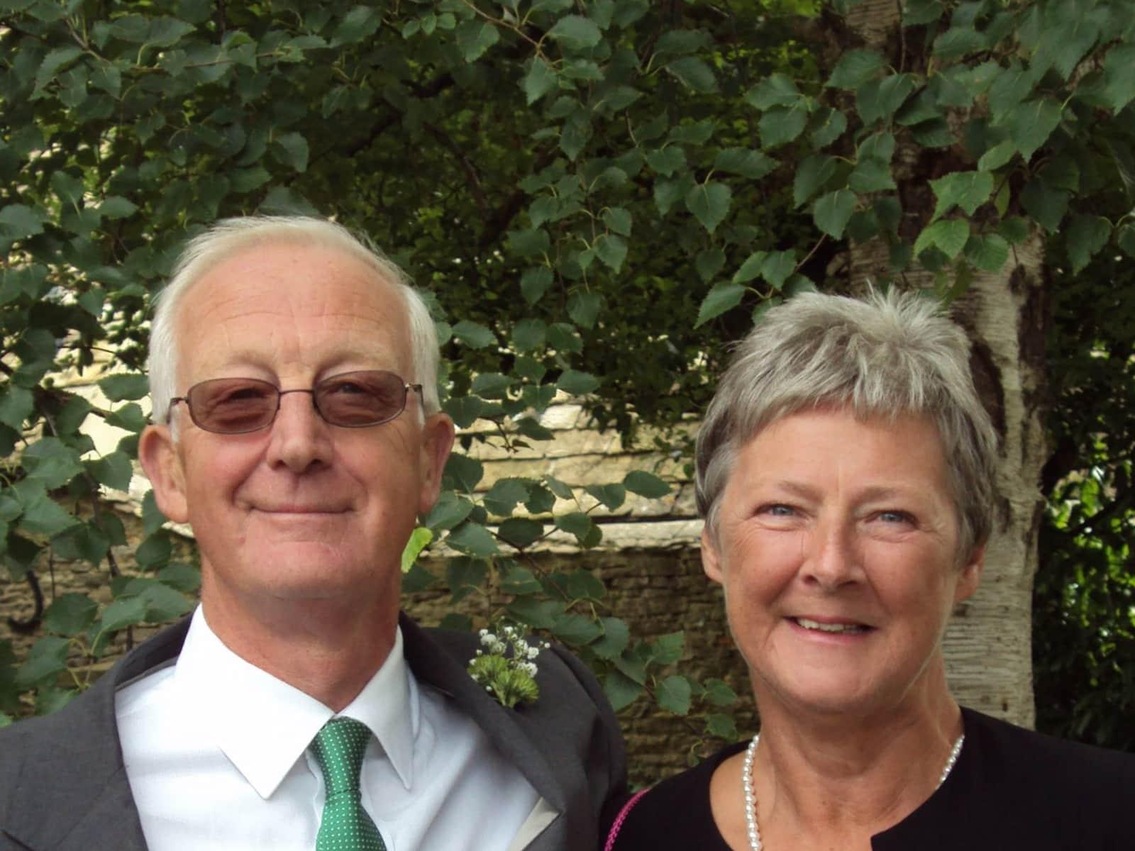 Barbara & Michael from Swindon, United Kingdom