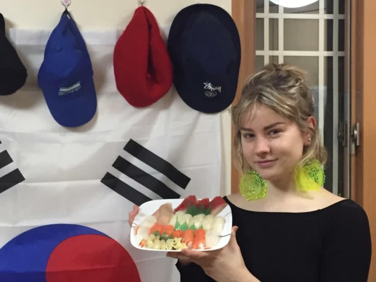 Elizabeth from Yongmeo-ri, South Korea