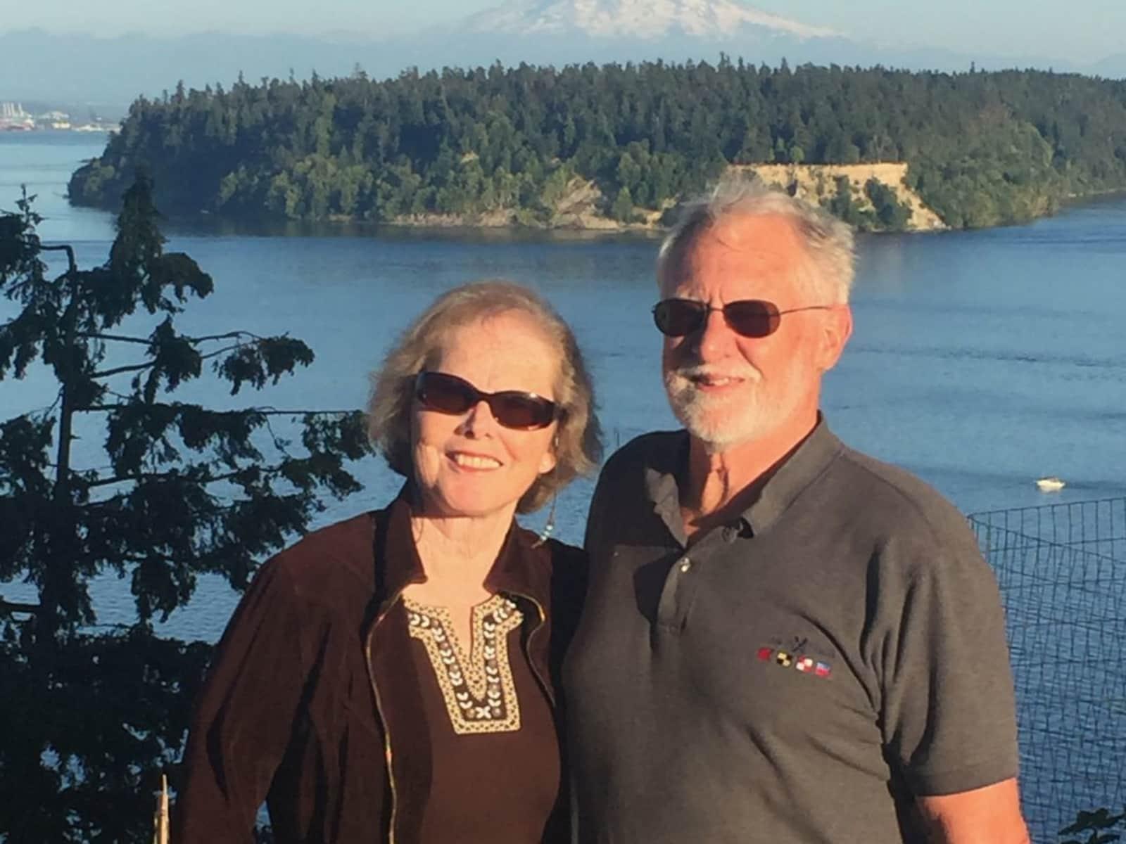 Cynthia and alan from Gig Harbor, Washington, United States
