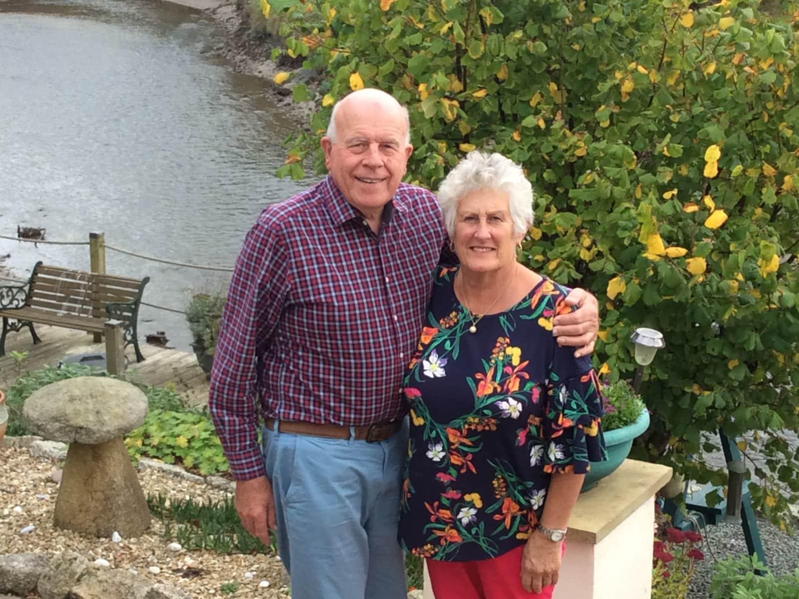 Linda & Philip from Truro, United Kingdom