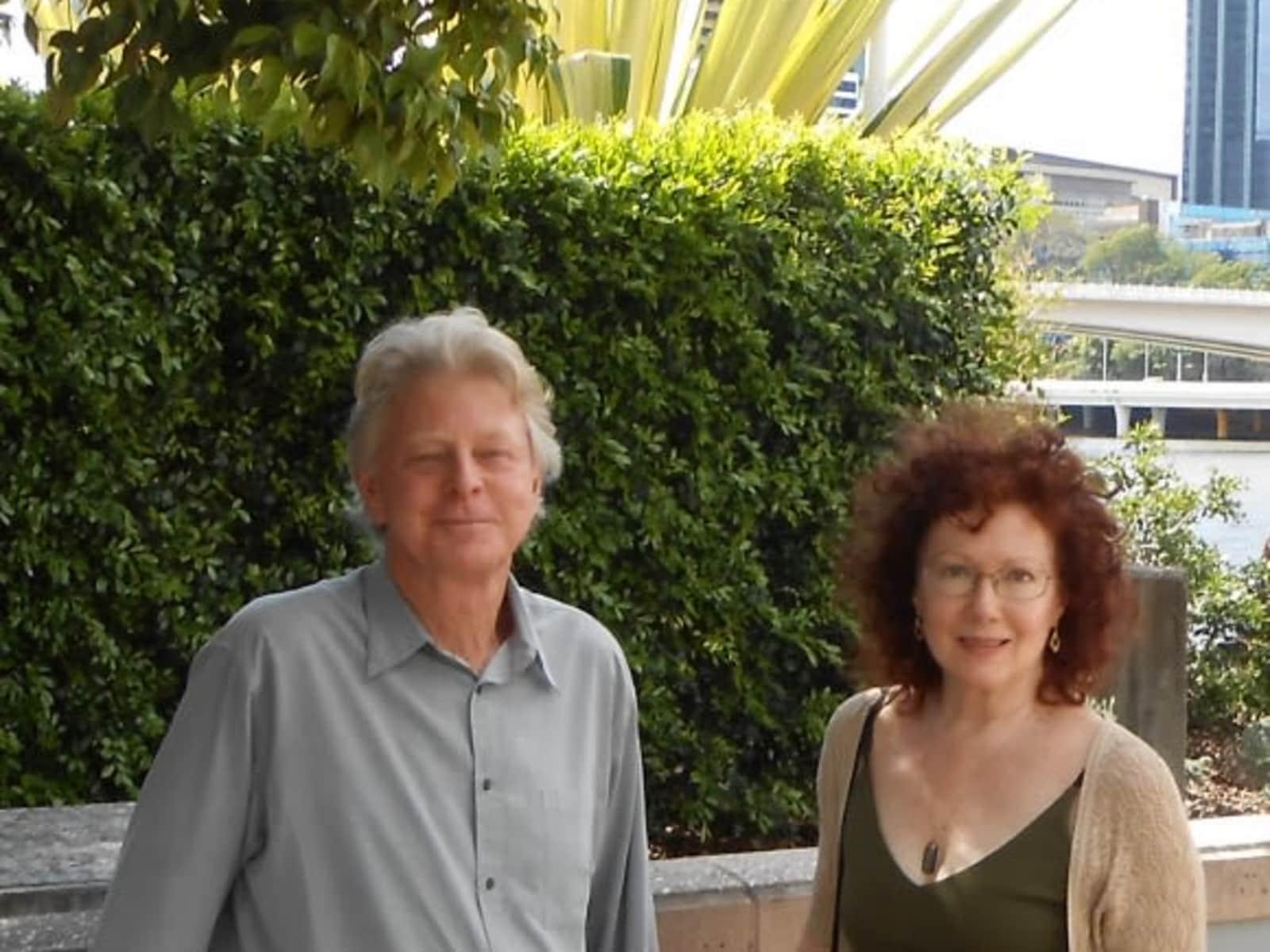 J.a. & Michael from Brisbane, Queensland, Australia