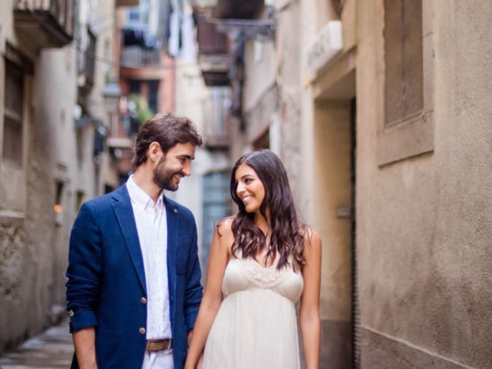 Camille & Alber from Barcelona, Spain