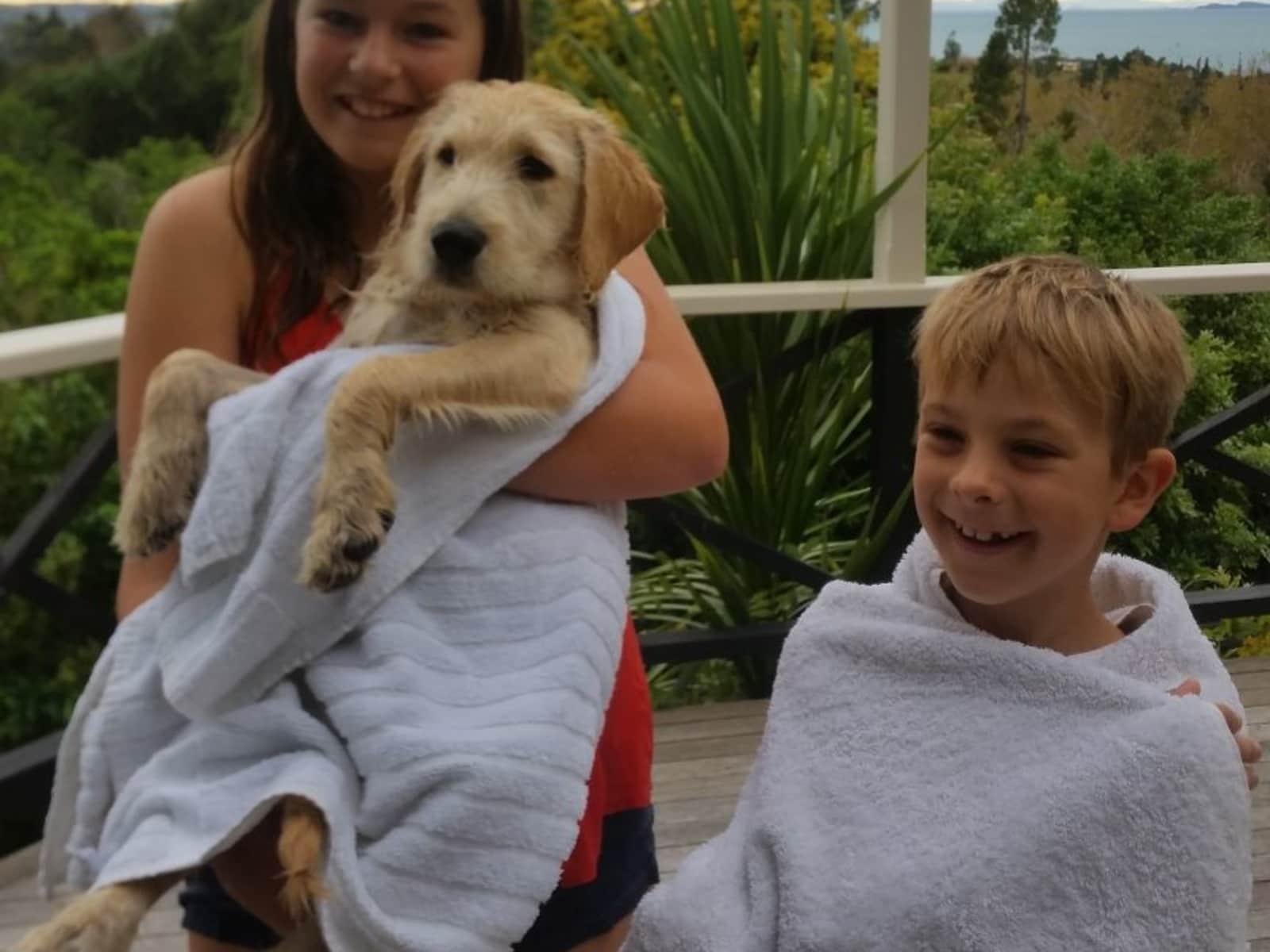 Tania & Simon from Whangaparaoa, New Zealand