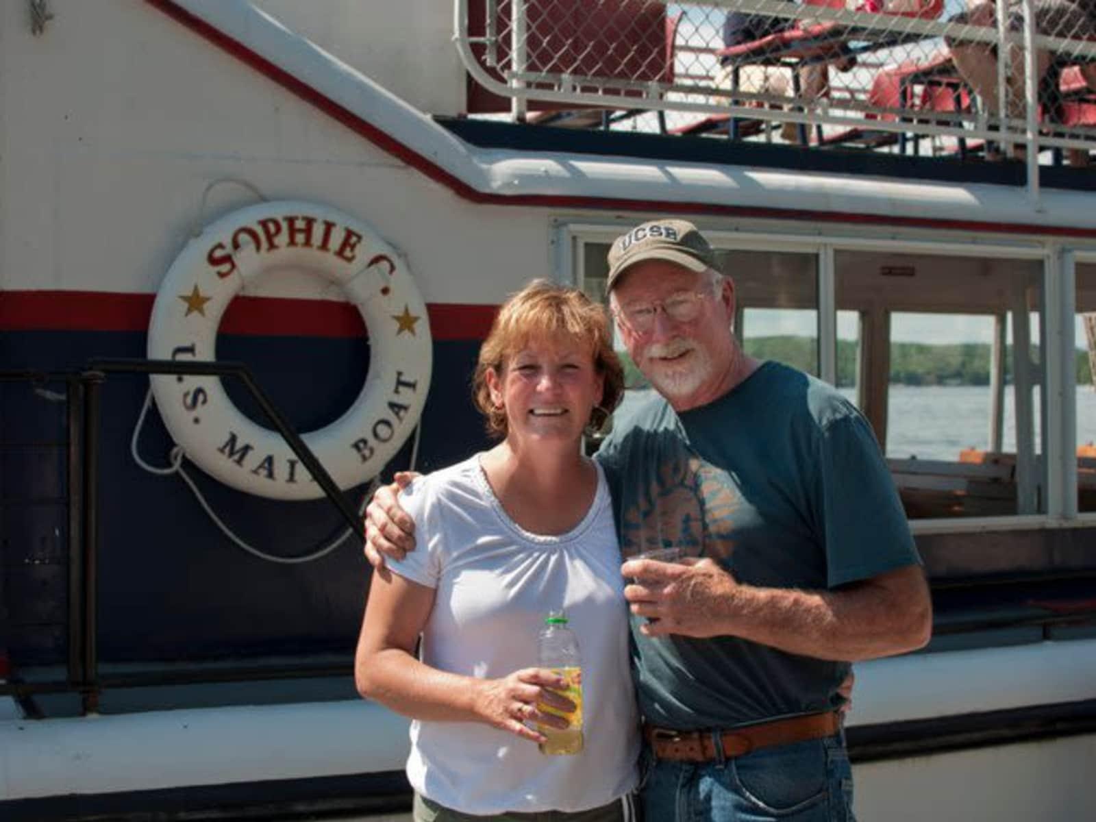 Kathy & John from Glens Falls, New York, United States