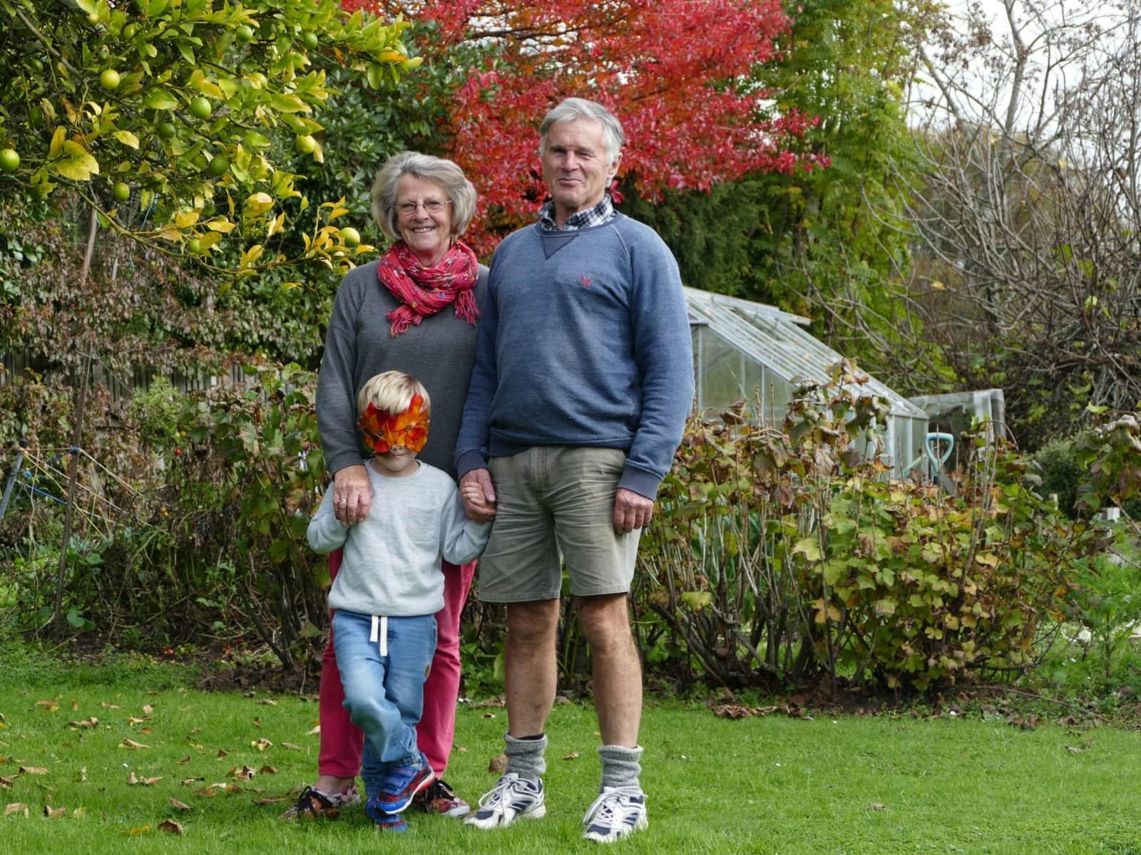 Rankeilor & Peter from Nelson, New Zealand