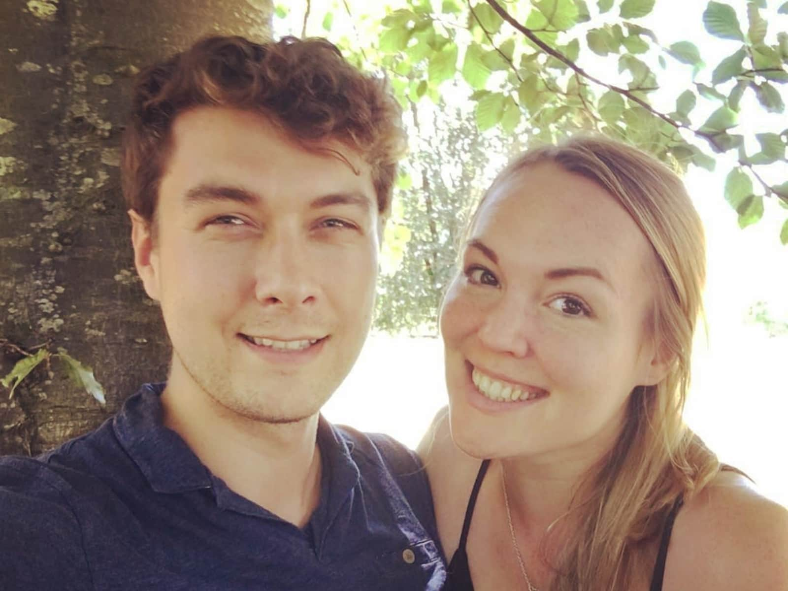 Gemma & Liam from Egham, United Kingdom