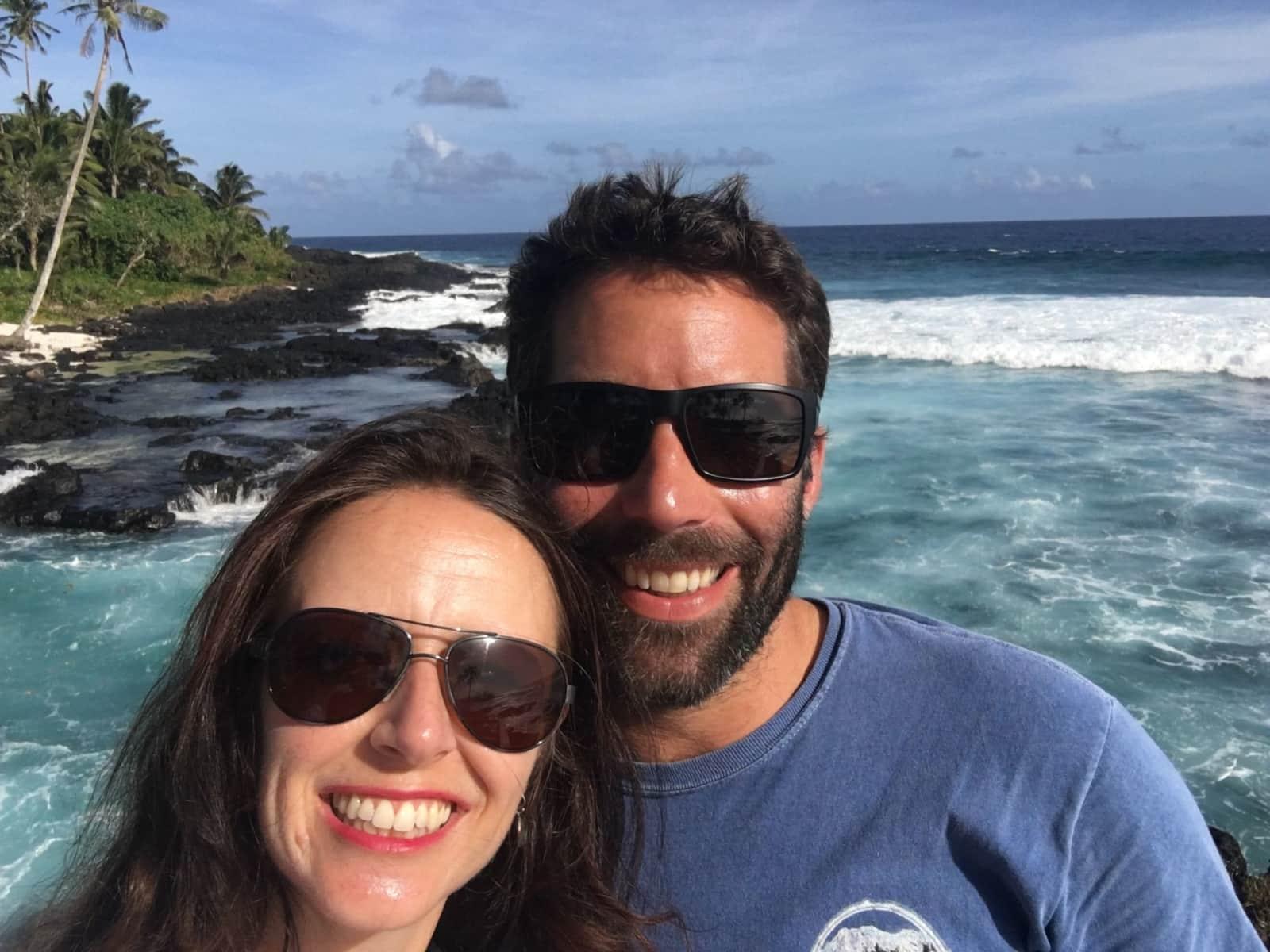 Anneliese & Andy from Edinburgh, United Kingdom