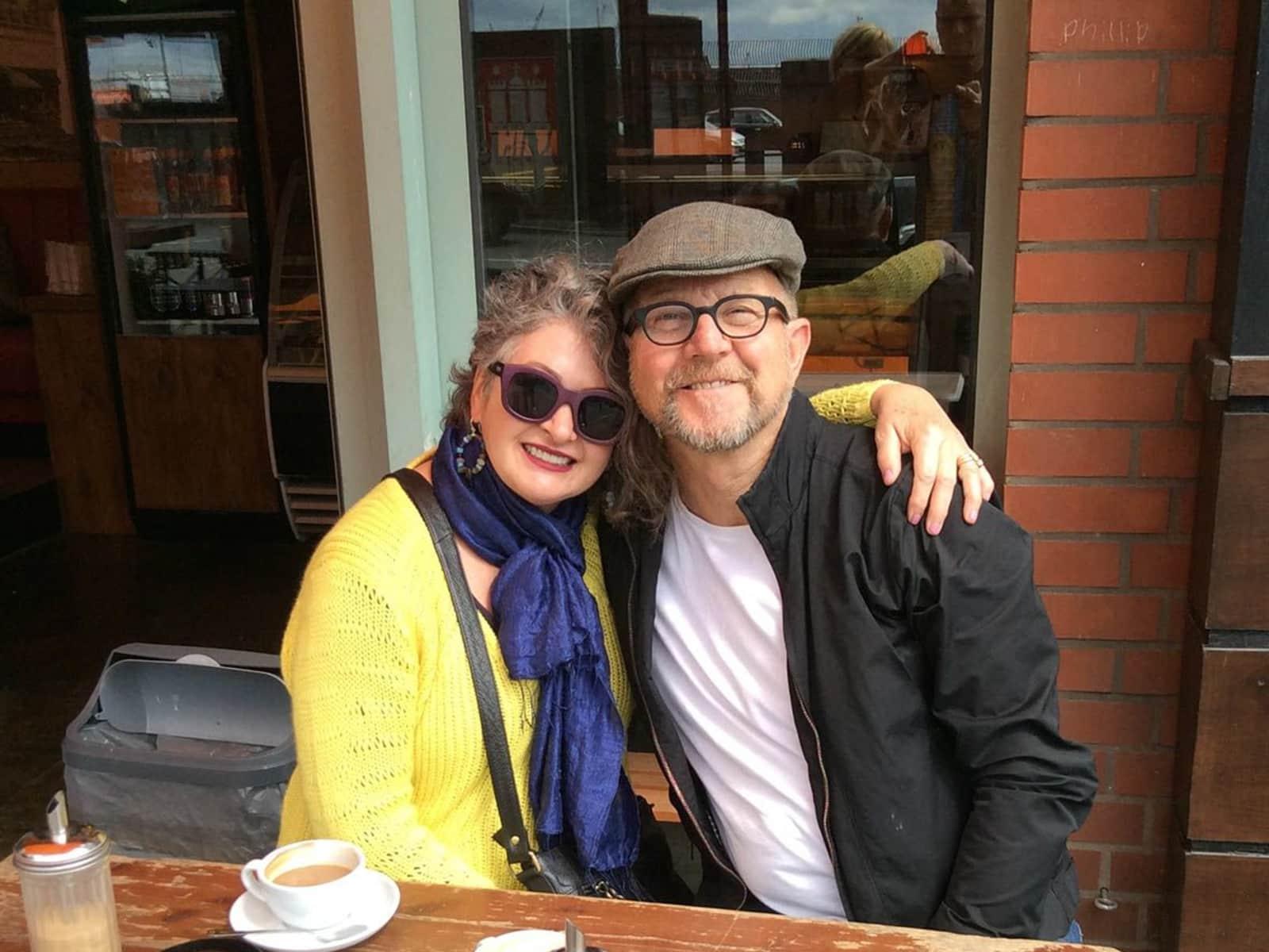 Alun & Jennifer from Melbourne, Victoria, Australia