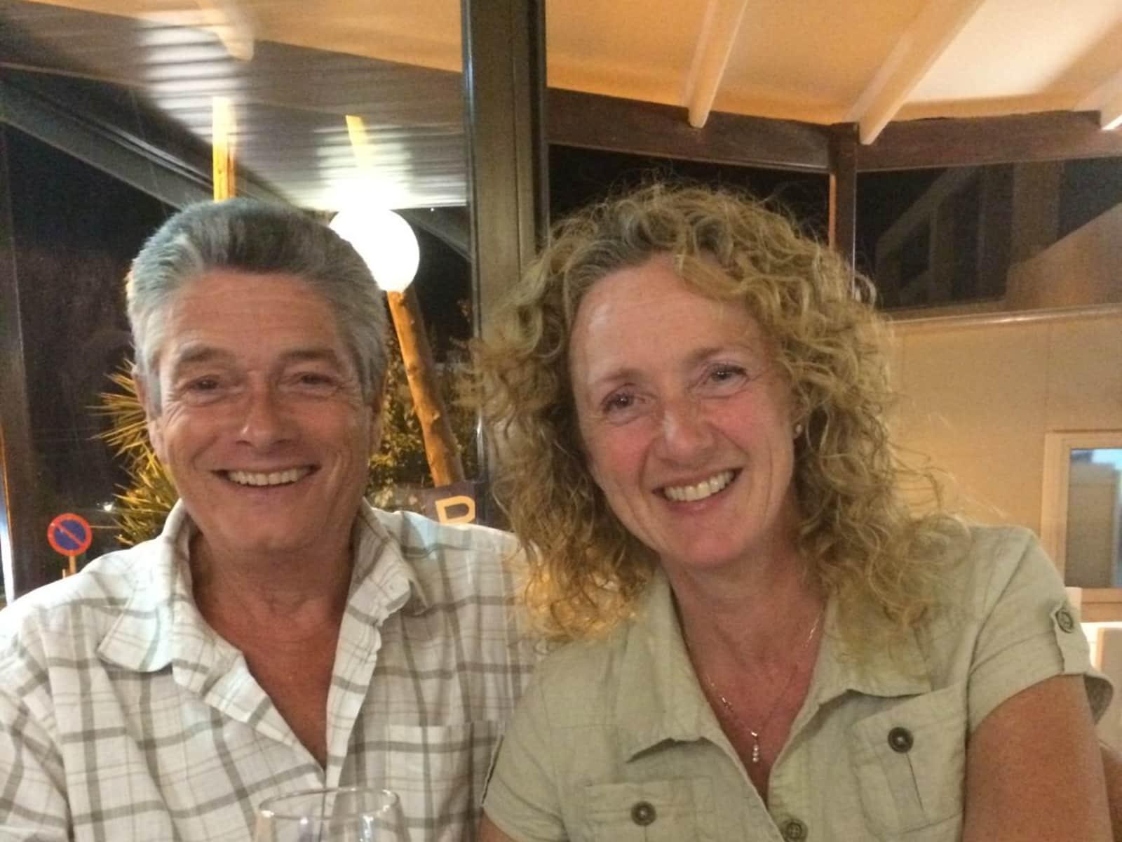 Trevor & Paula from Creuse, France