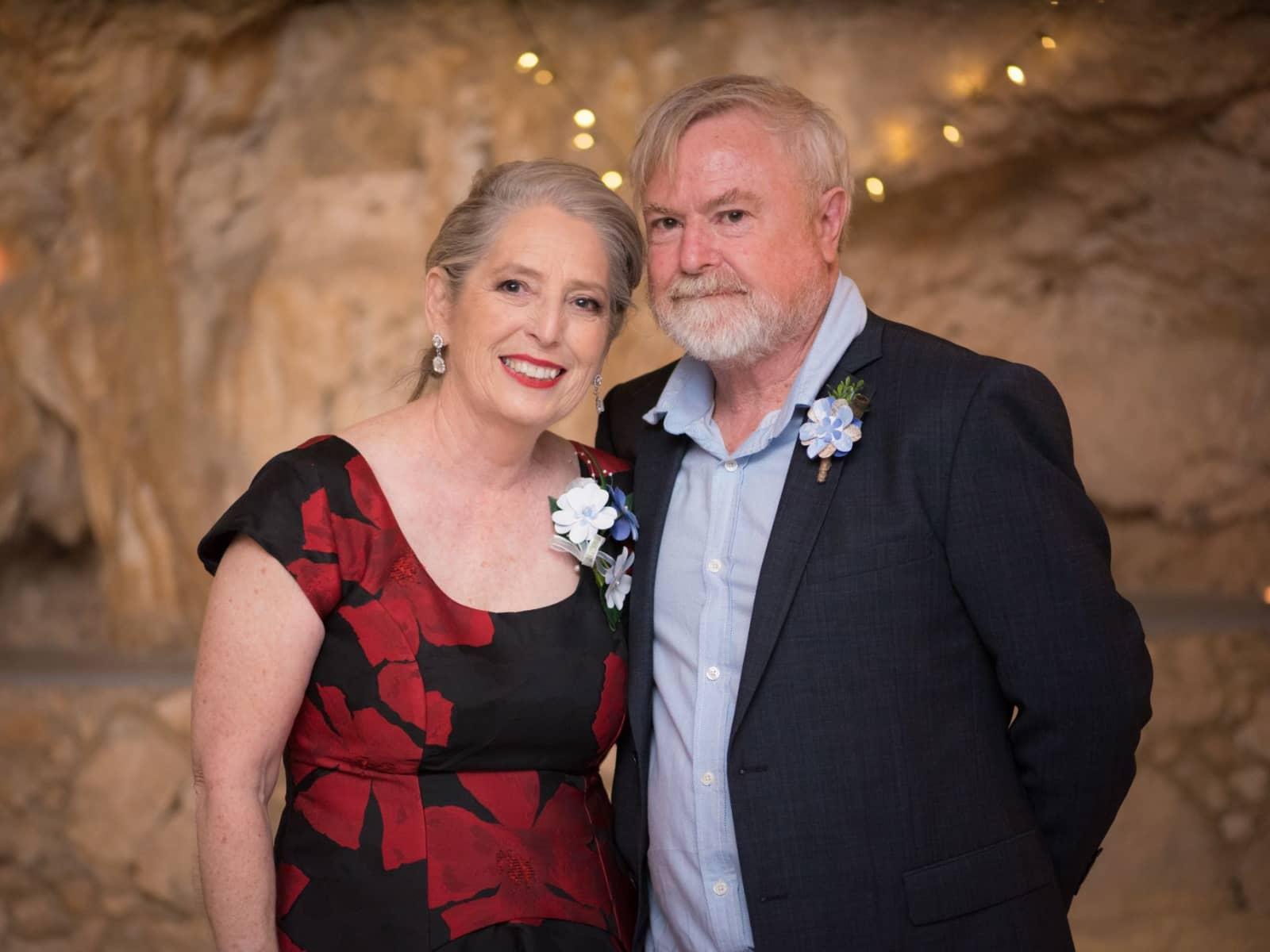 Carol & George from Perth, Western Australia, Australia