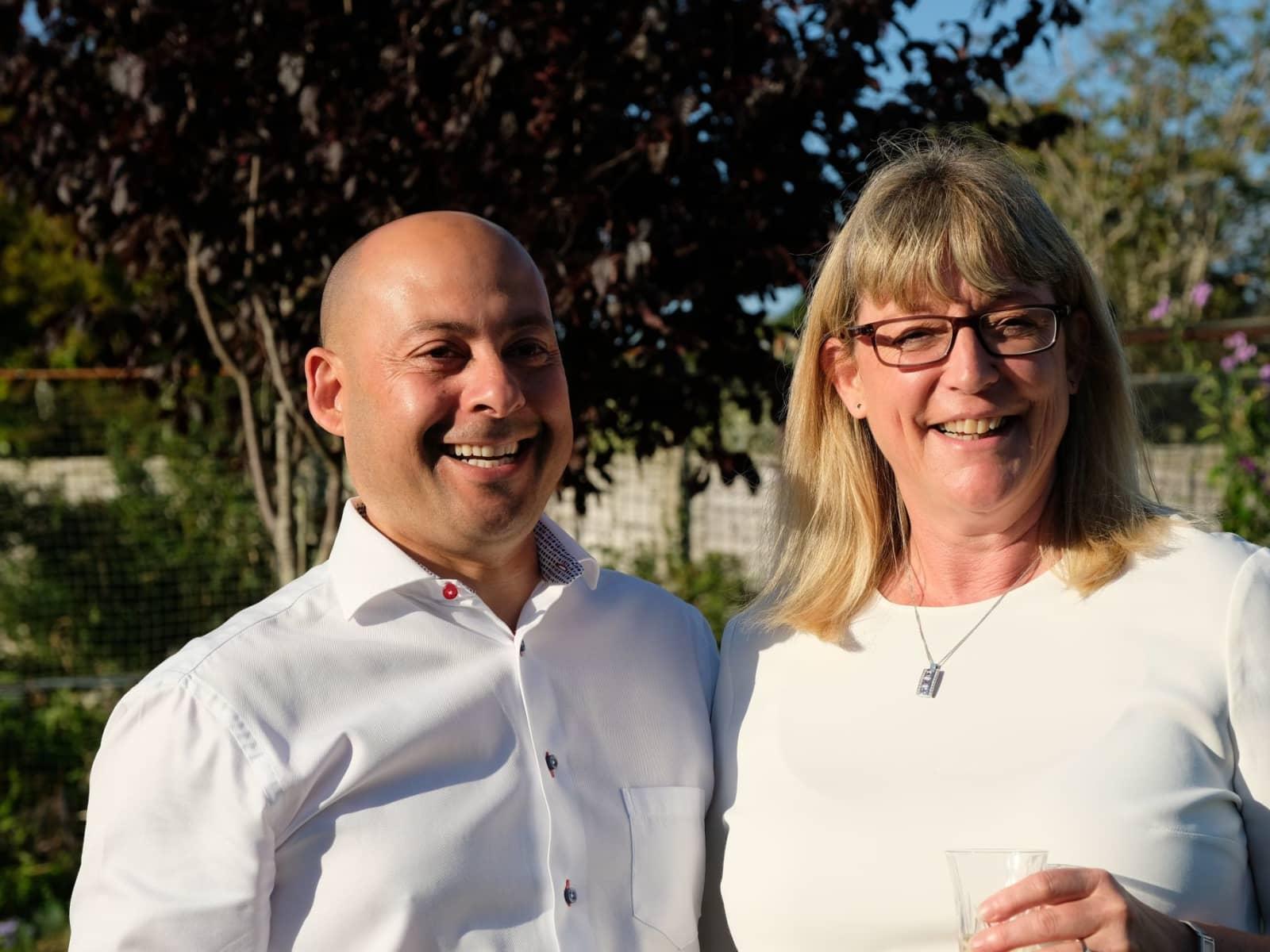 Wendy & Simon from Hailsham, United Kingdom