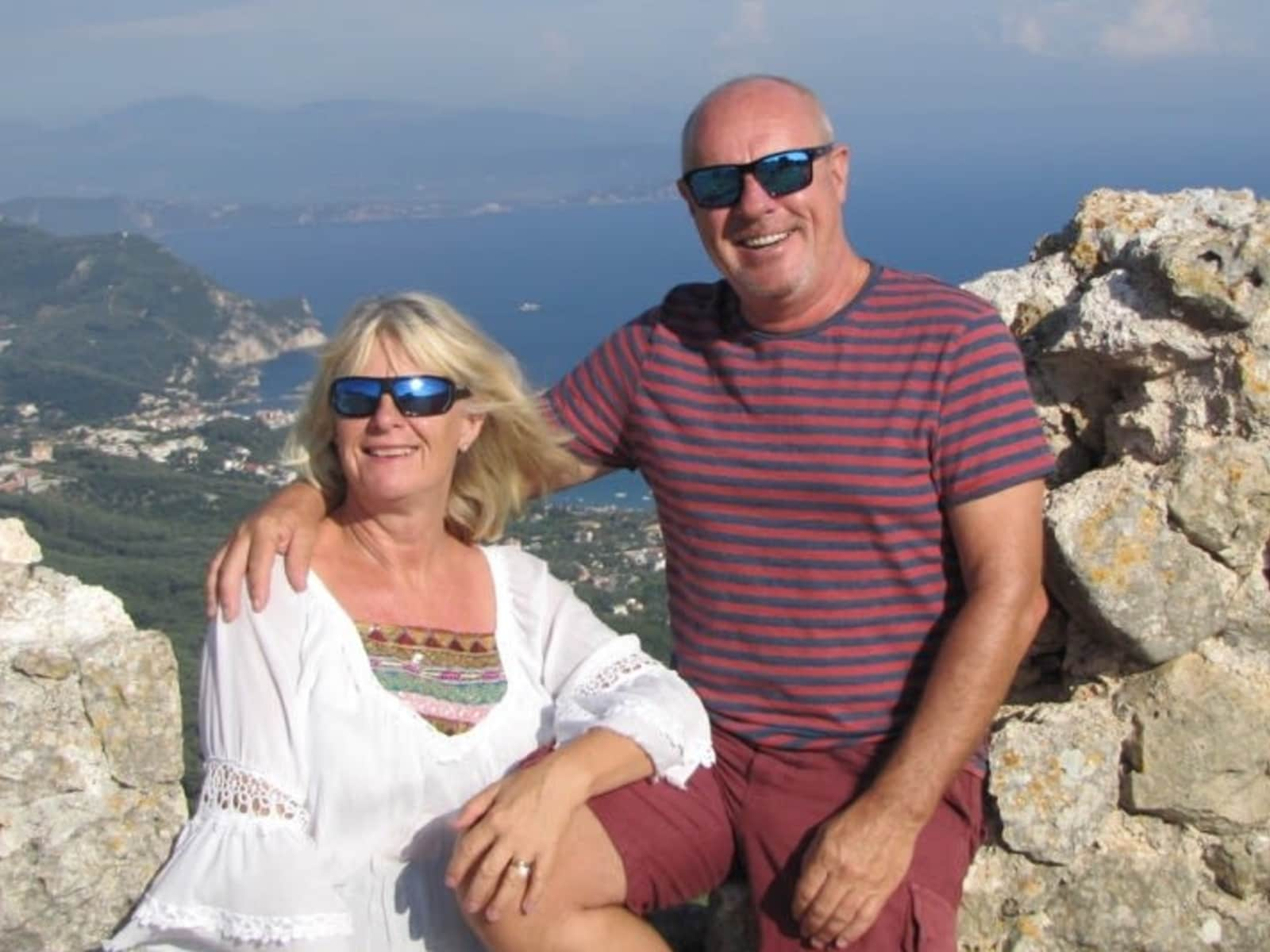 Richard & Carol from Brighton, United Kingdom