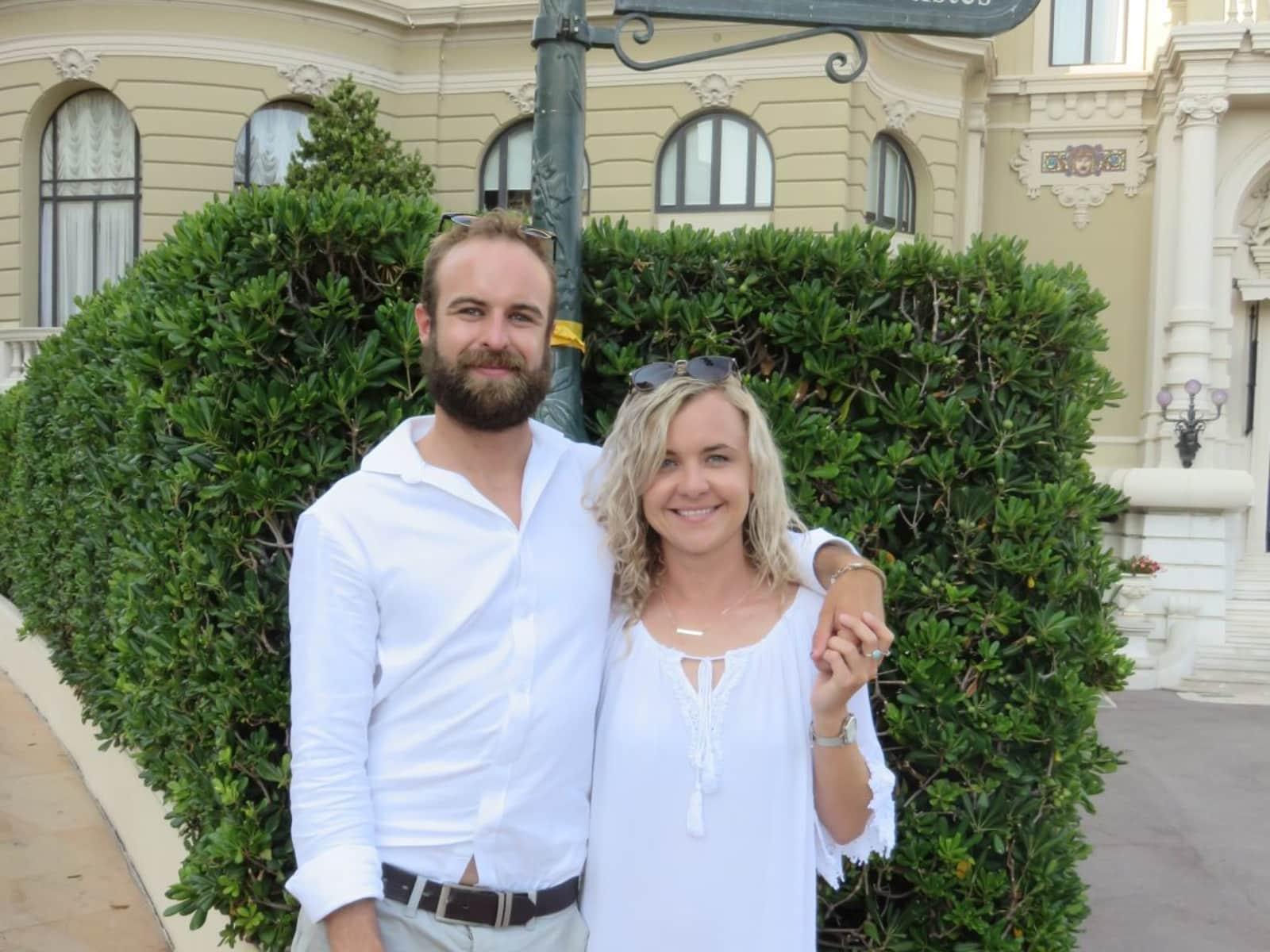 Kristin & Frazer from London, United Kingdom