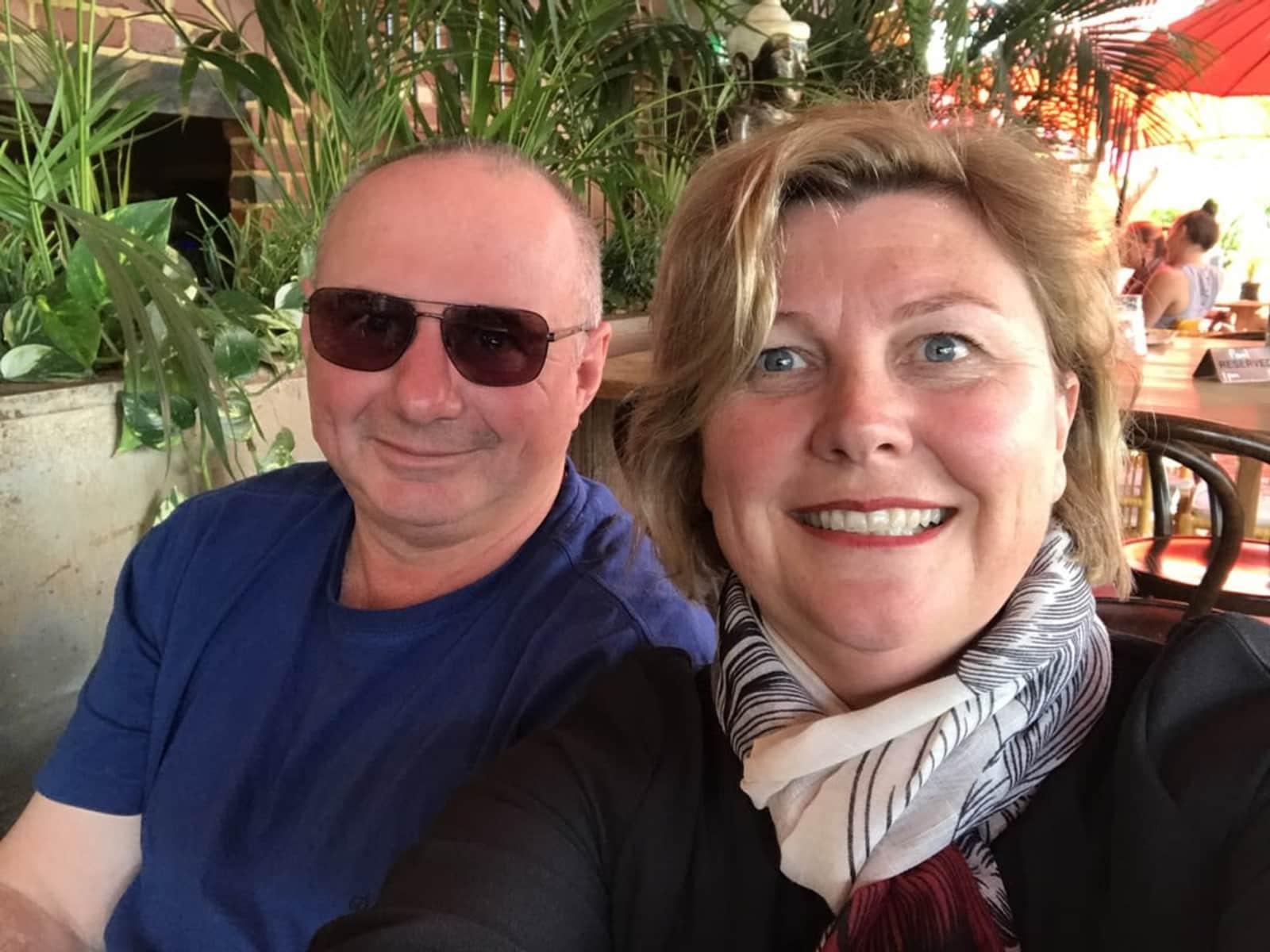 Elizabeth & Brendan from Perth, Western Australia, Australia
