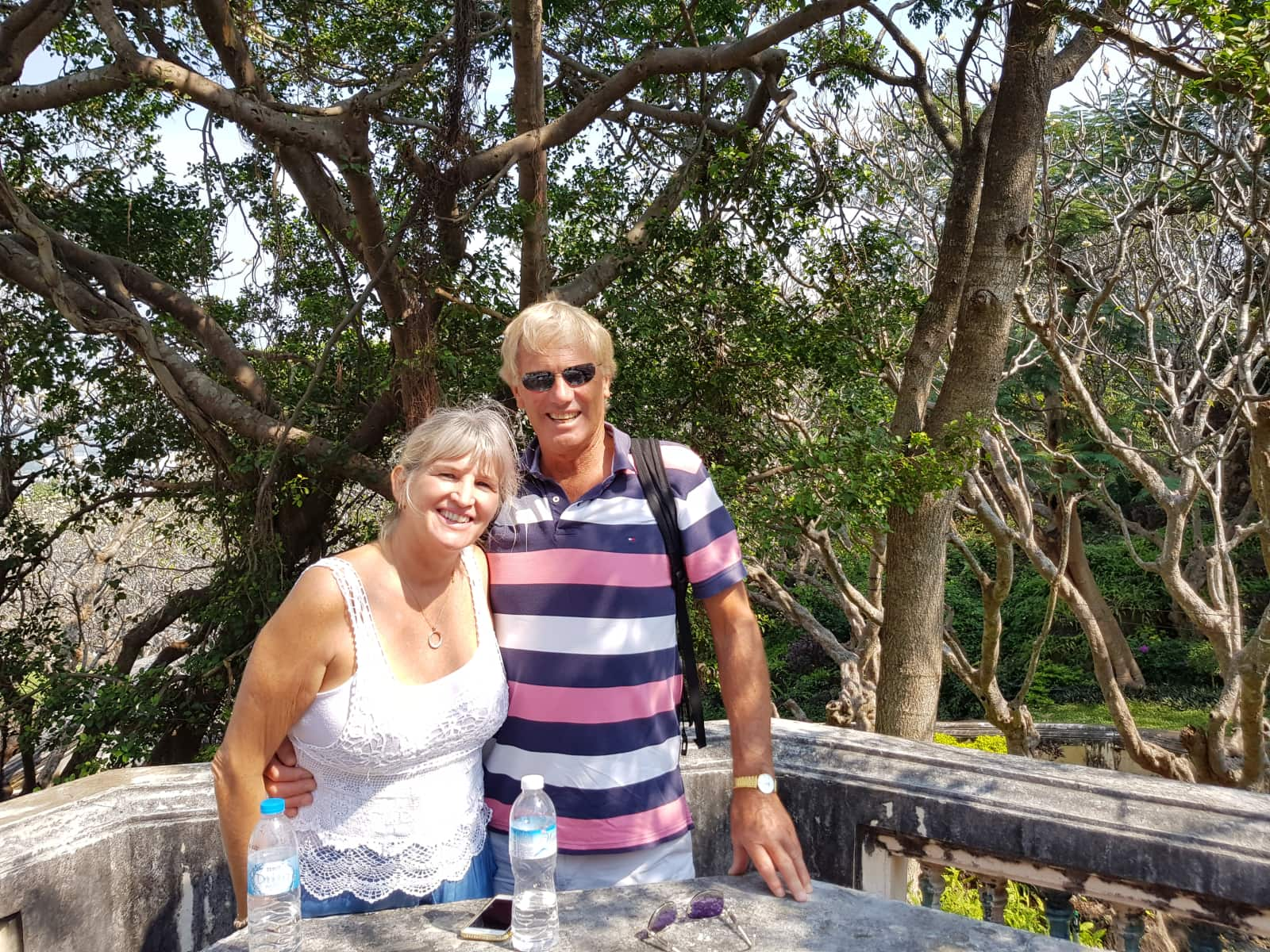 John & Evelyn from Hua Hin, Thailand