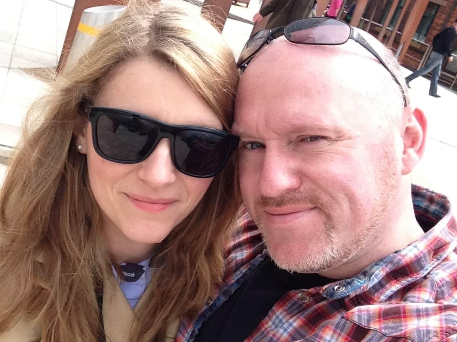 Patricia & Alan from Dublin, Ireland