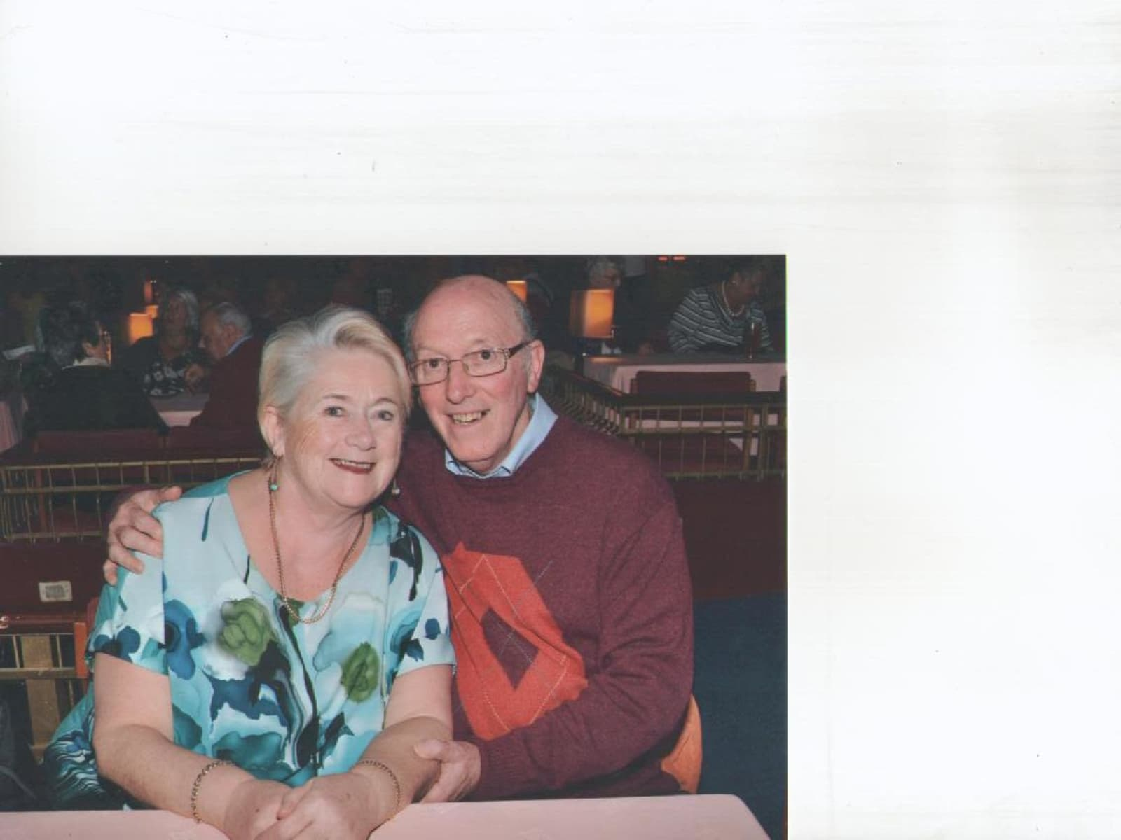 Pat & Peter from Dunoon, United Kingdom