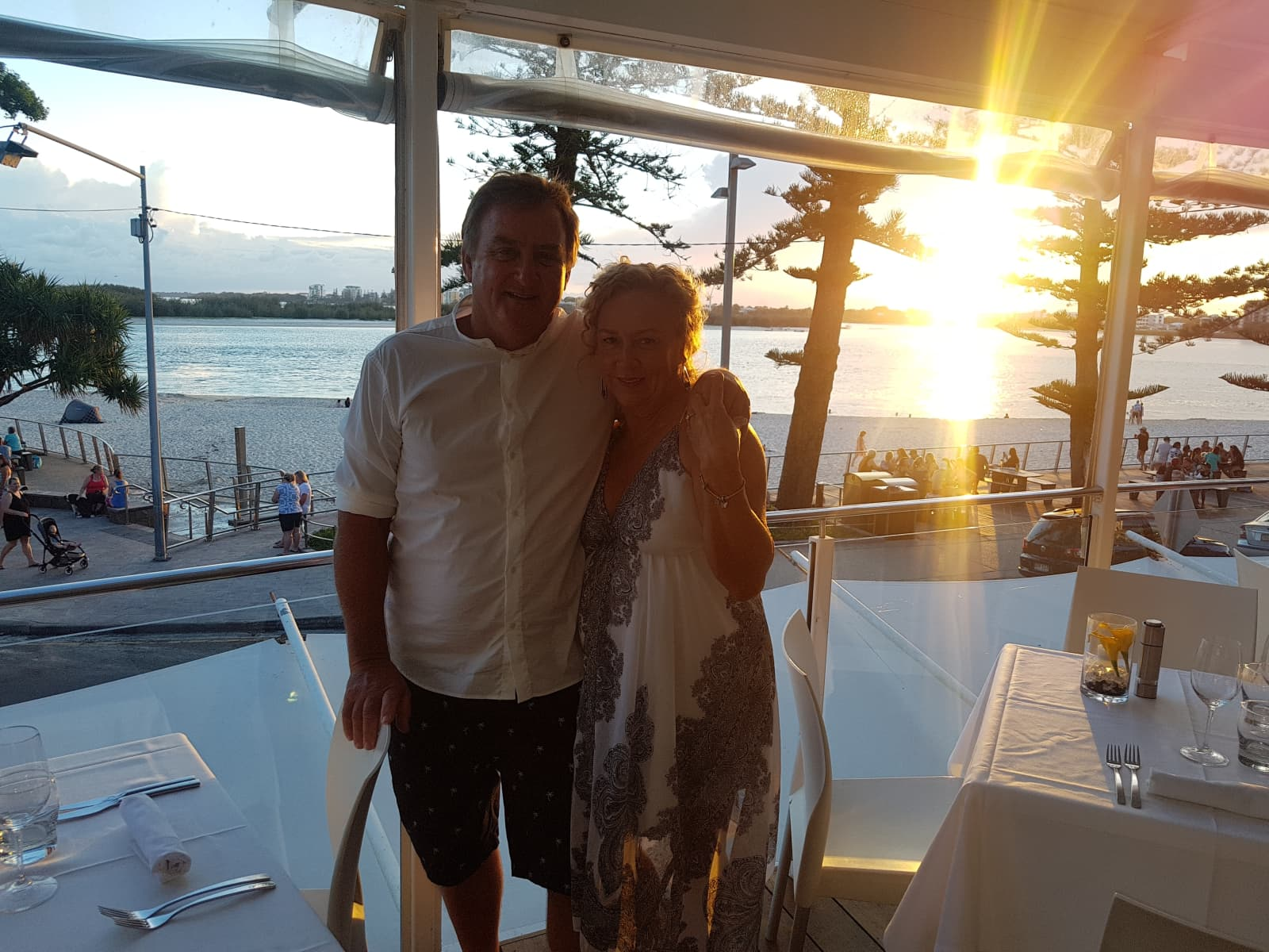 Gail & gary & Gary from Caloundra, Queensland, Australia