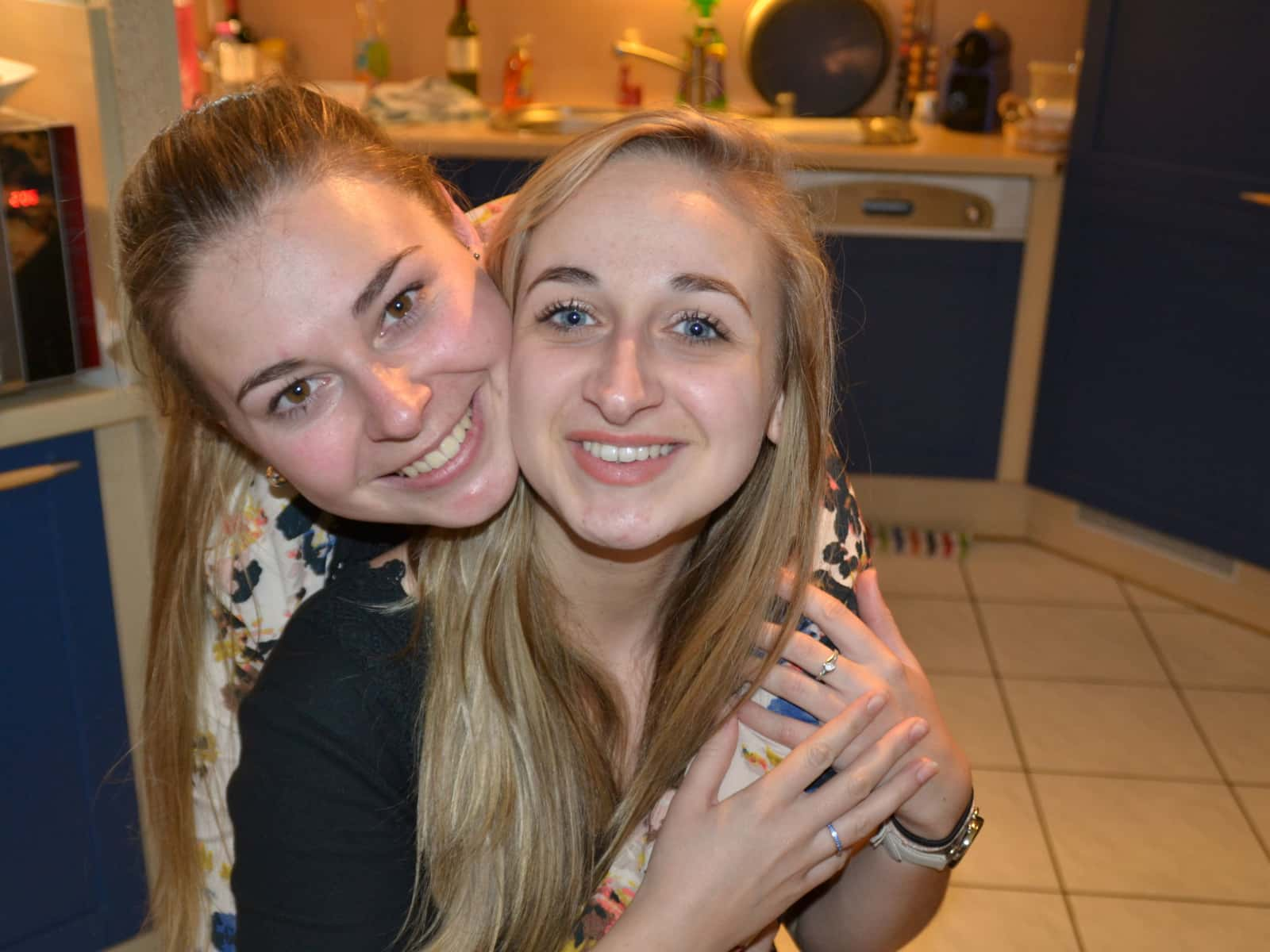 Ambre & Pauline from Caen, France