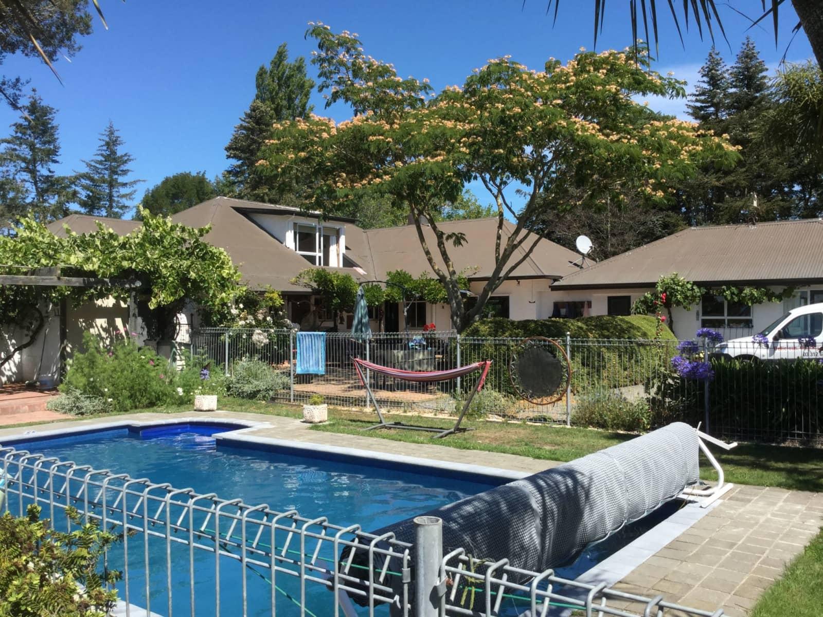 Housesitting assignment in Rangiora, New Zealand