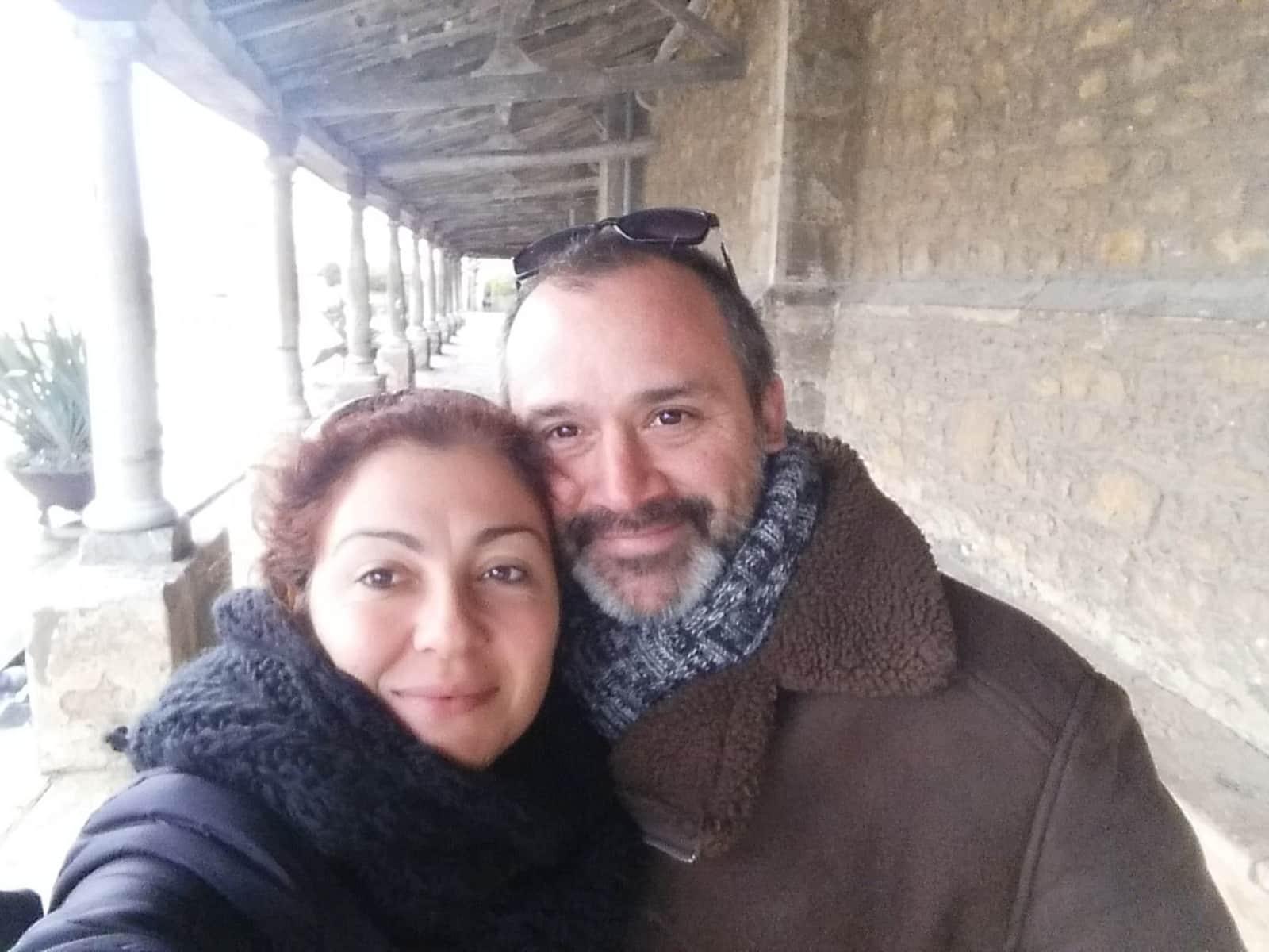 Steven & Natalia from Sauzal, Spain