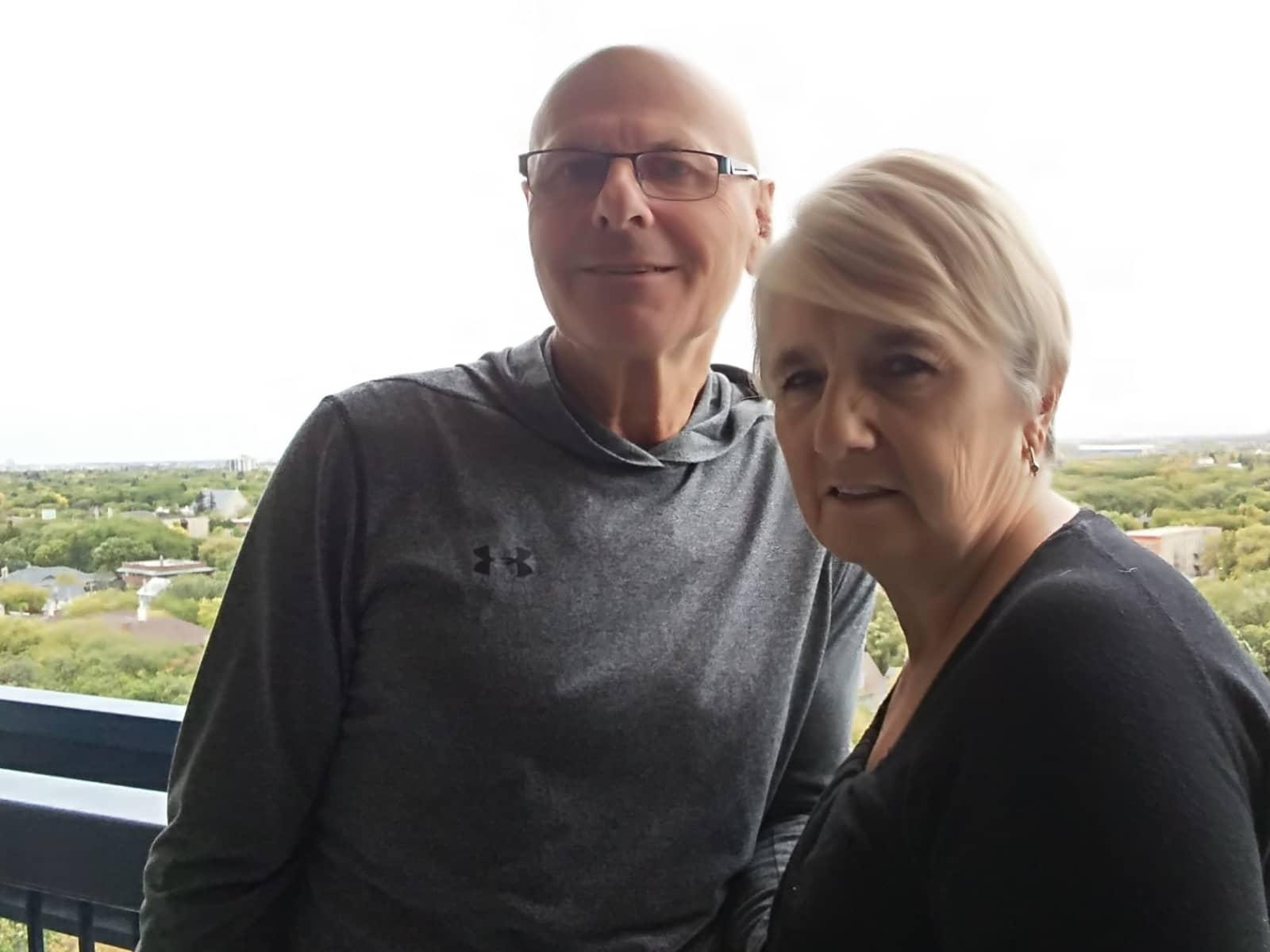 John & Betty from Winnipeg, Manitoba, Canada