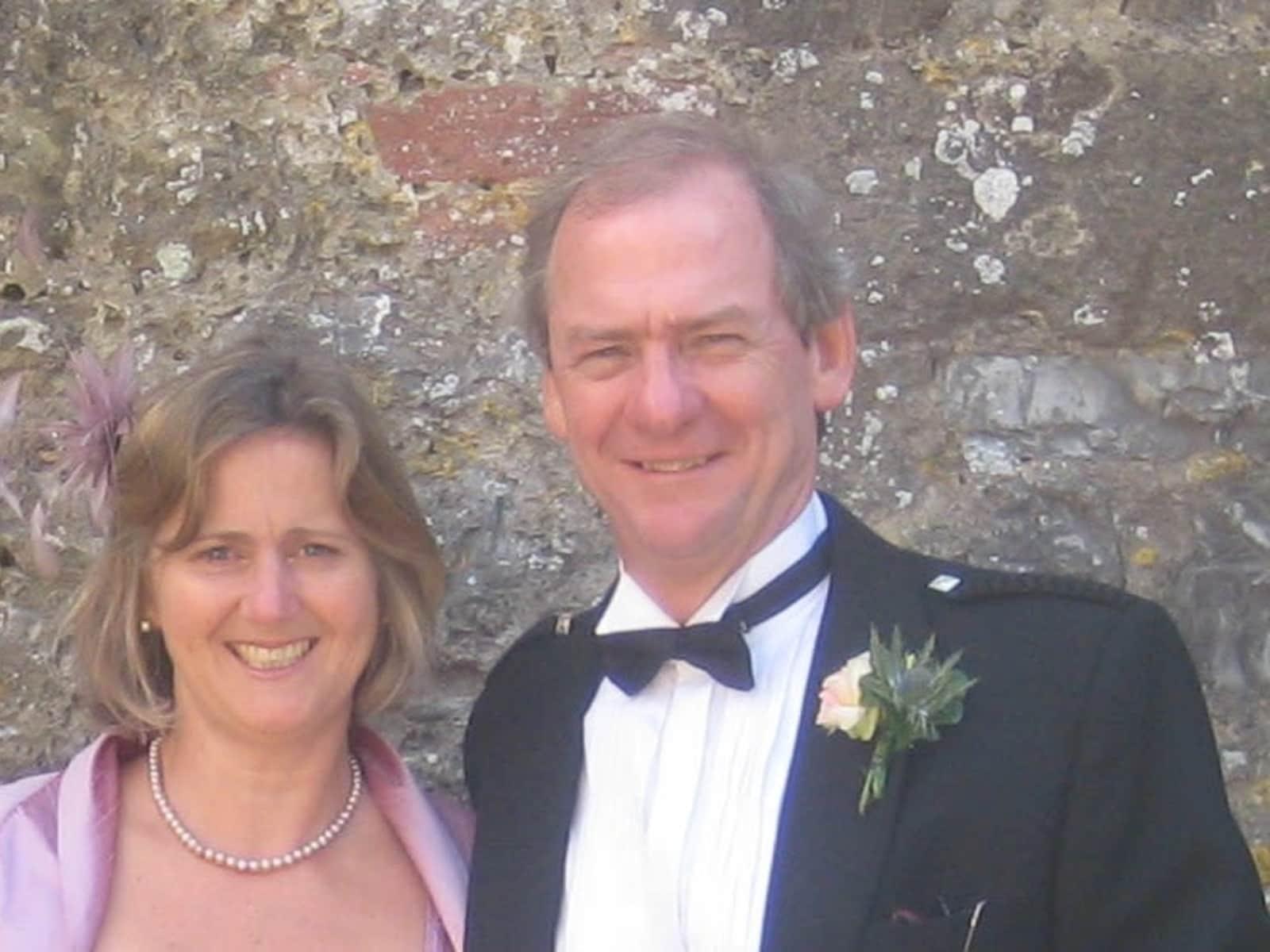 Elaine & Gordon from Exeter, United Kingdom