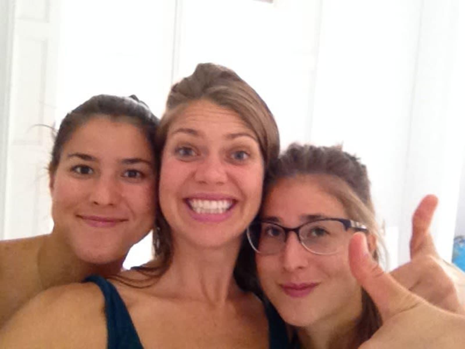 Rachael & Rosita and jasmin from Barcelona, Spain