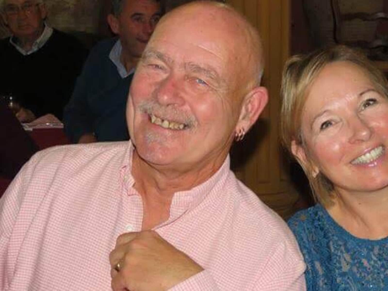 Terri & John from Pedreguer, Spain