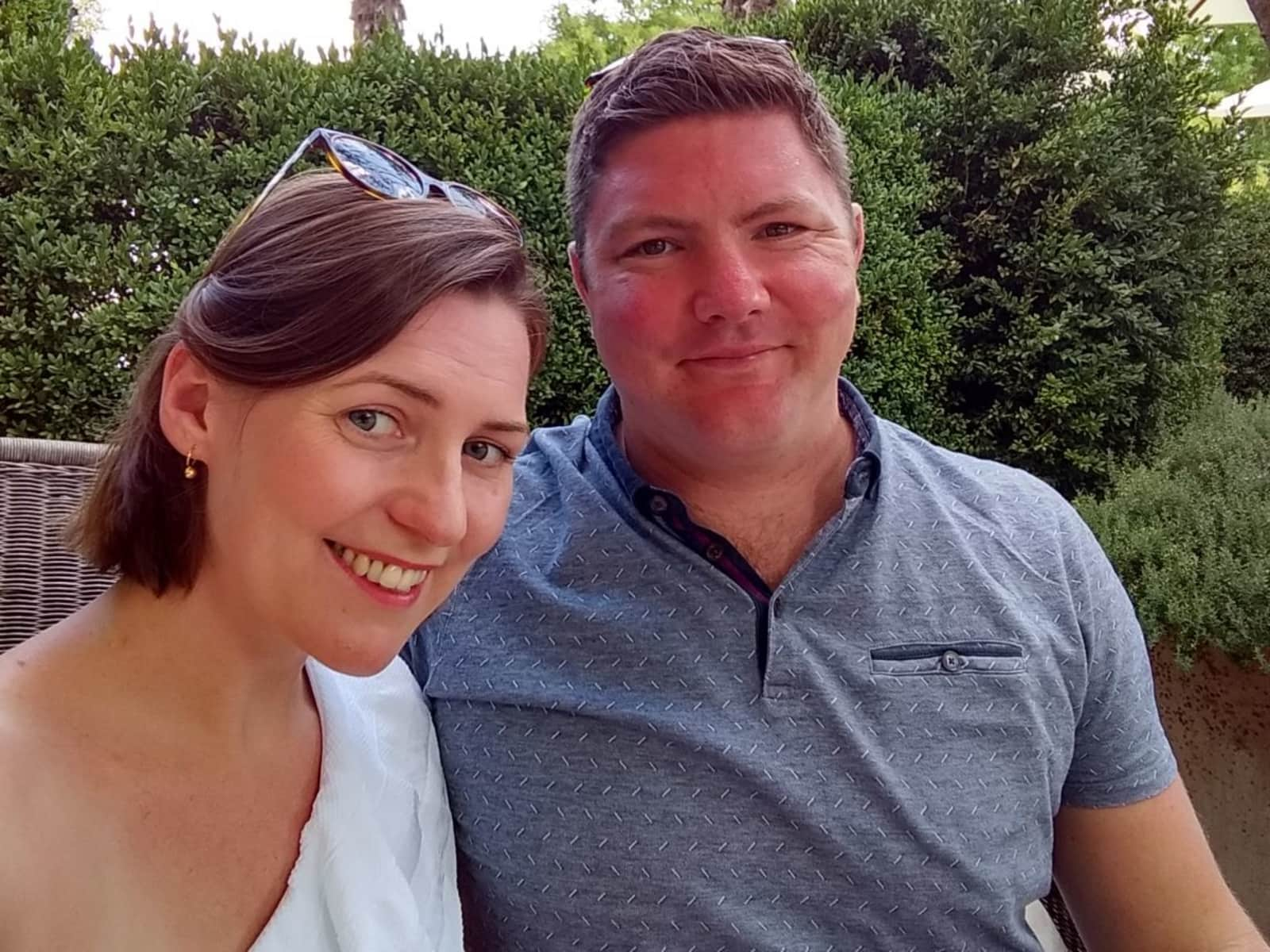 Sarah & Andrew from Bristol, United Kingdom