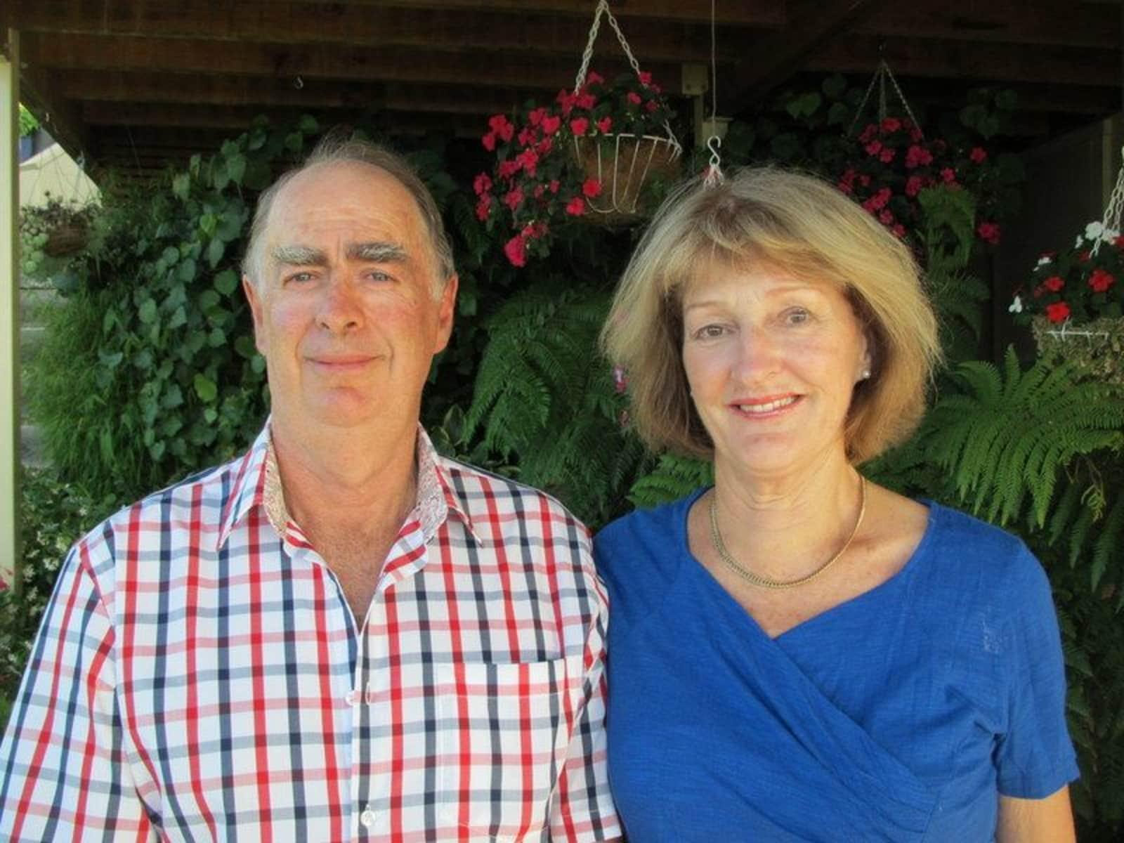 John & Marilyn from Nelson, New Zealand