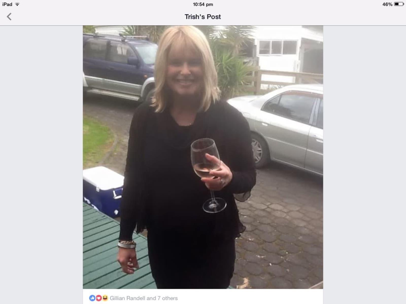 Trish from Torbay, New Zealand