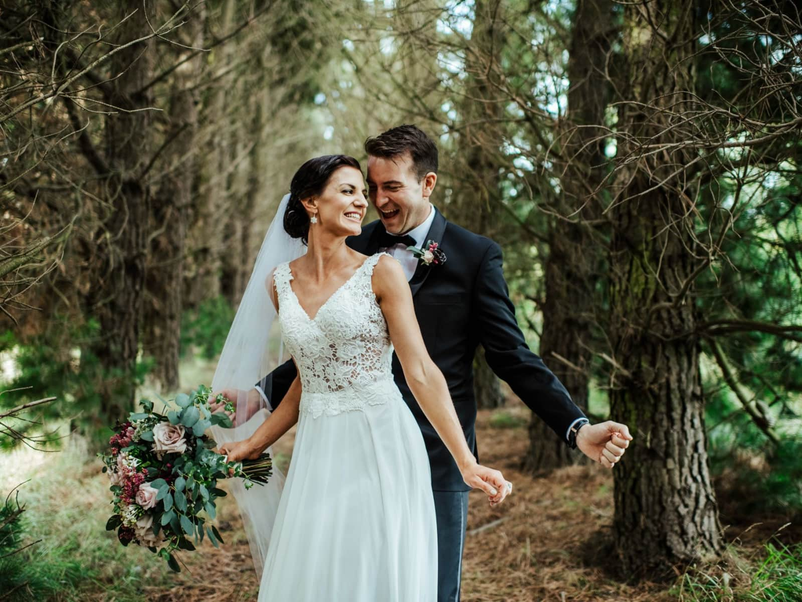 Kelly & David from Christchurch, New Zealand