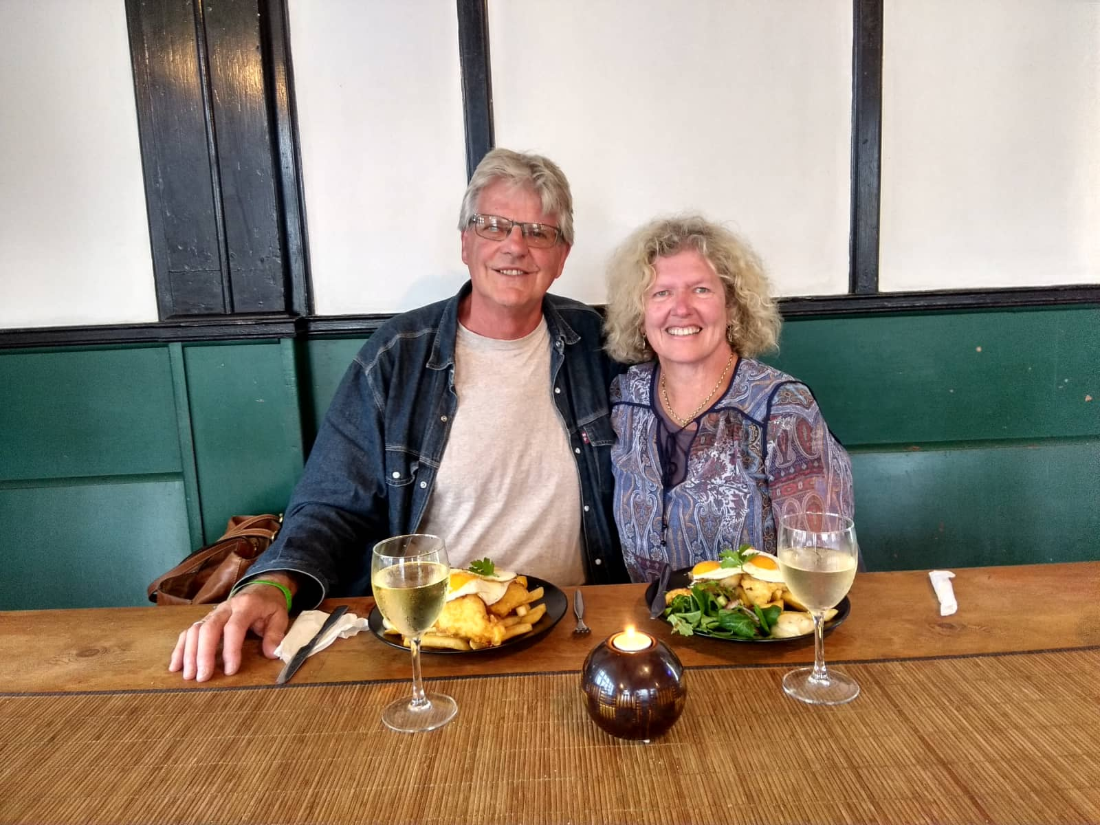 Lois & Mike from Wellington, New Zealand