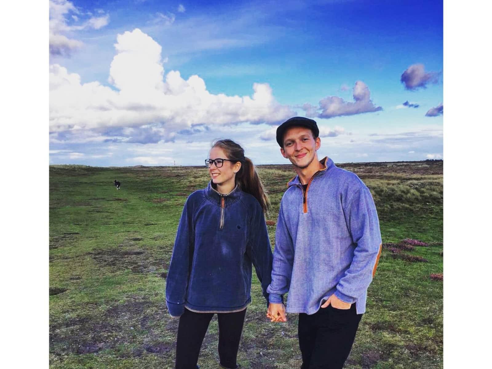 Peter & Lucinda from Bristol, United Kingdom