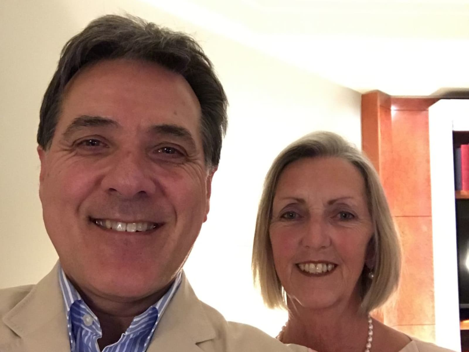 Carol & Philip from Waihi, New Zealand