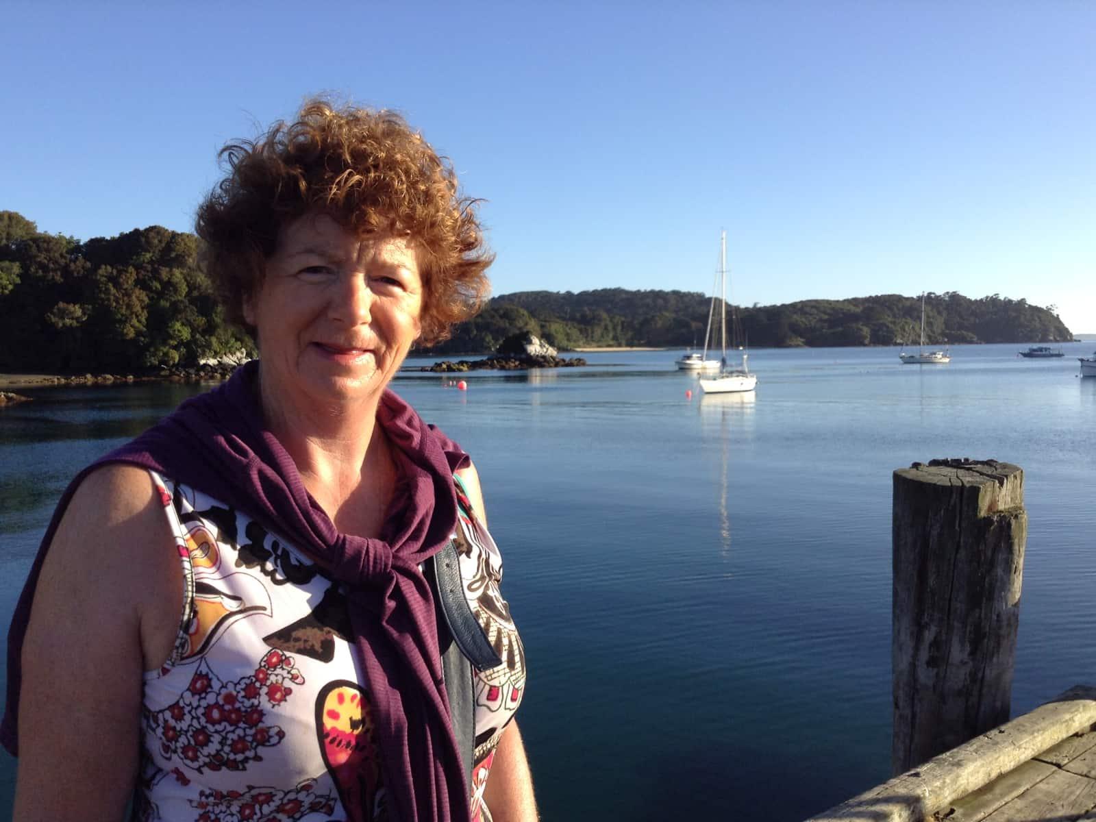 Miriam from Gisborne, New Zealand