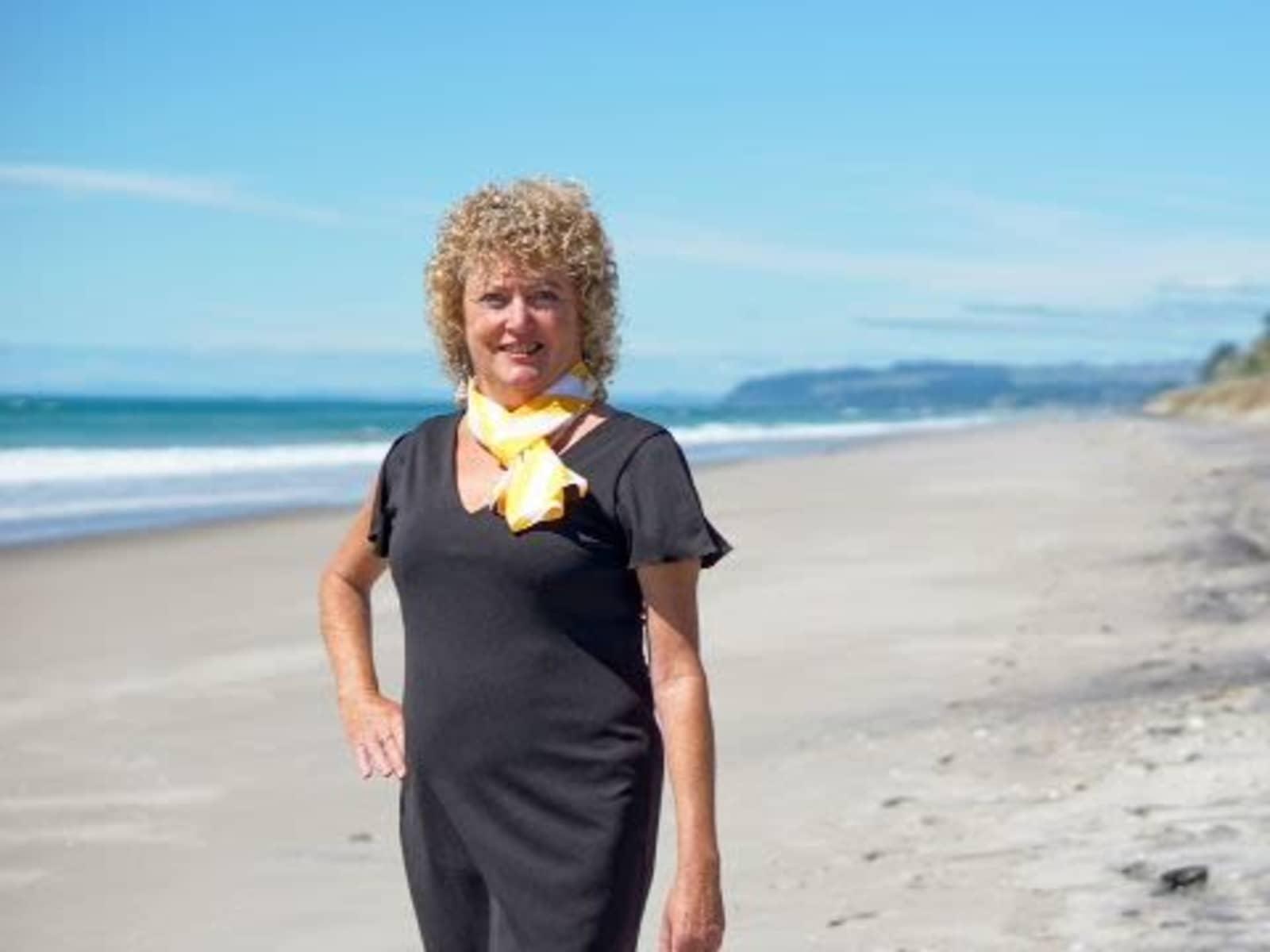 Joy from Pukehina, New Zealand