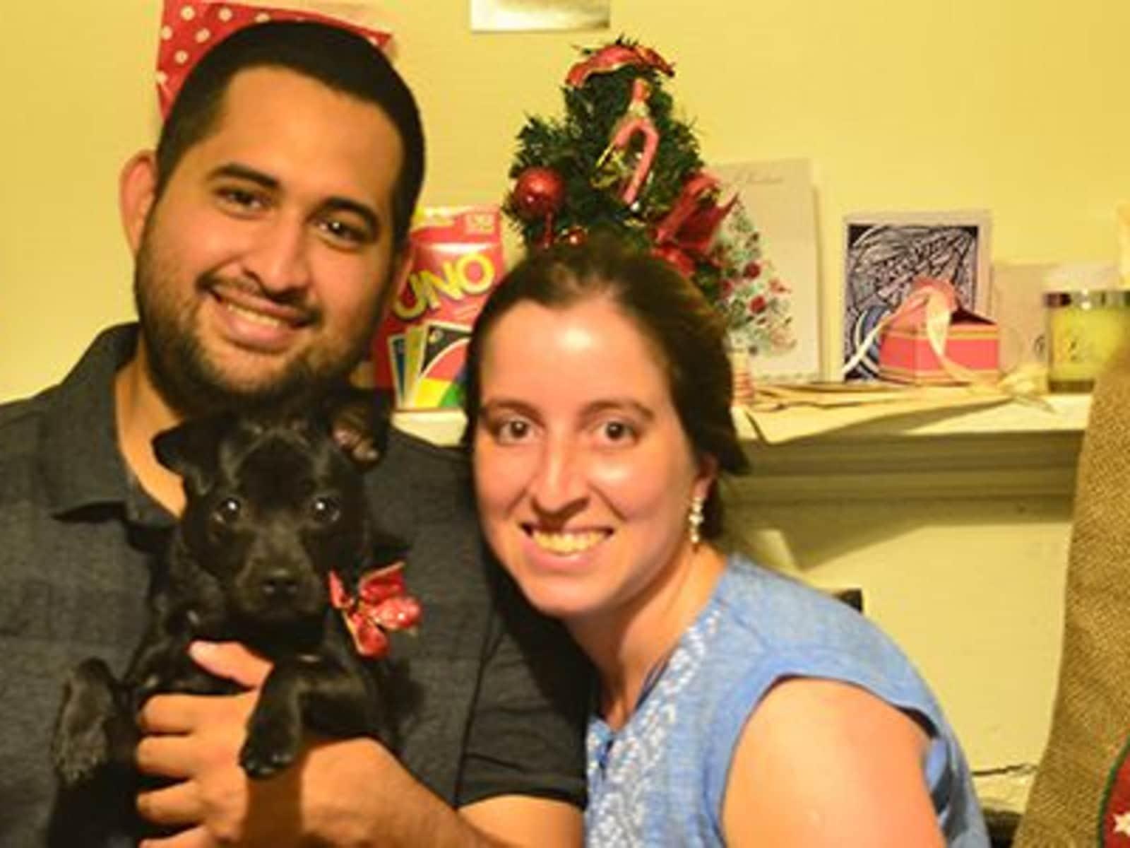 Carolina & Andrés leonardo from Wellington, New Zealand