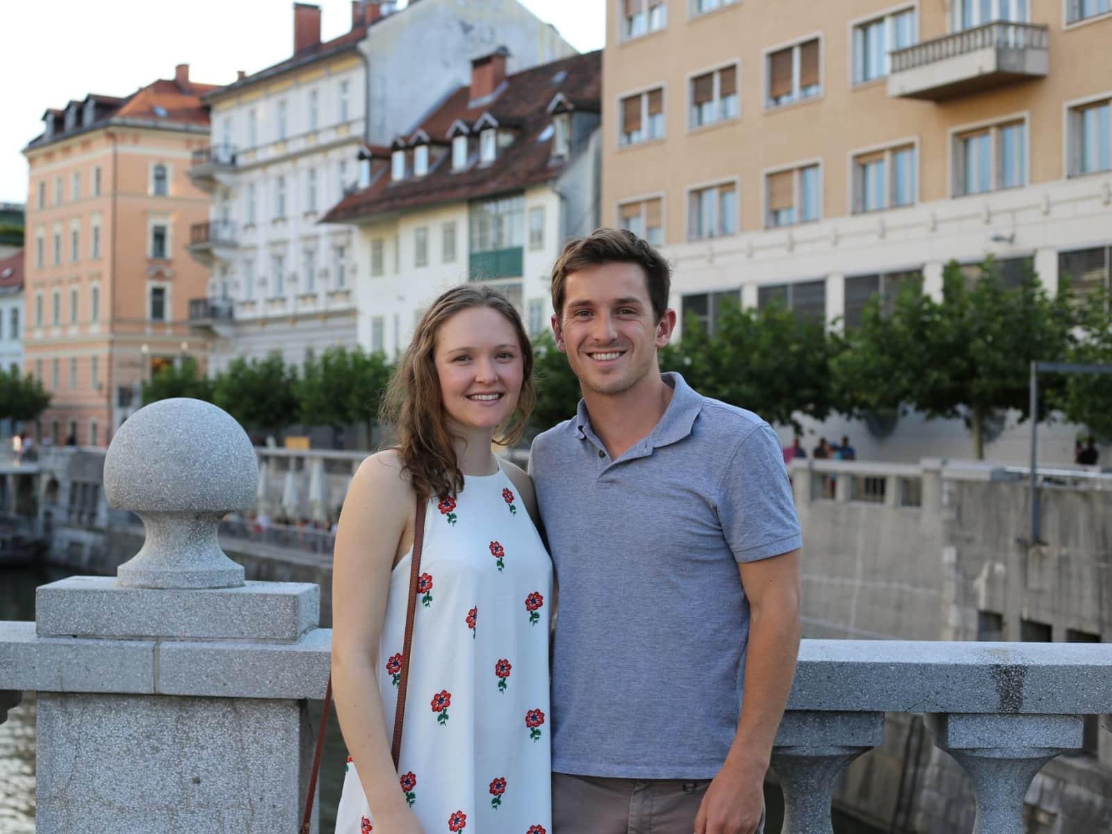 Benjamin & Tina from London, United Kingdom