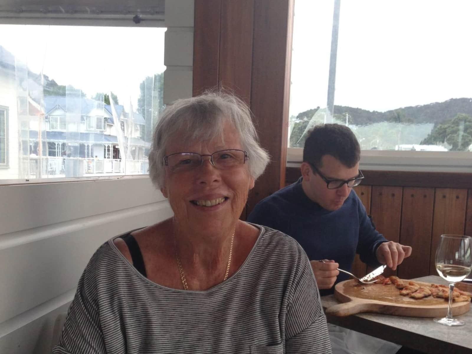 Lynn from Auckland, New Zealand