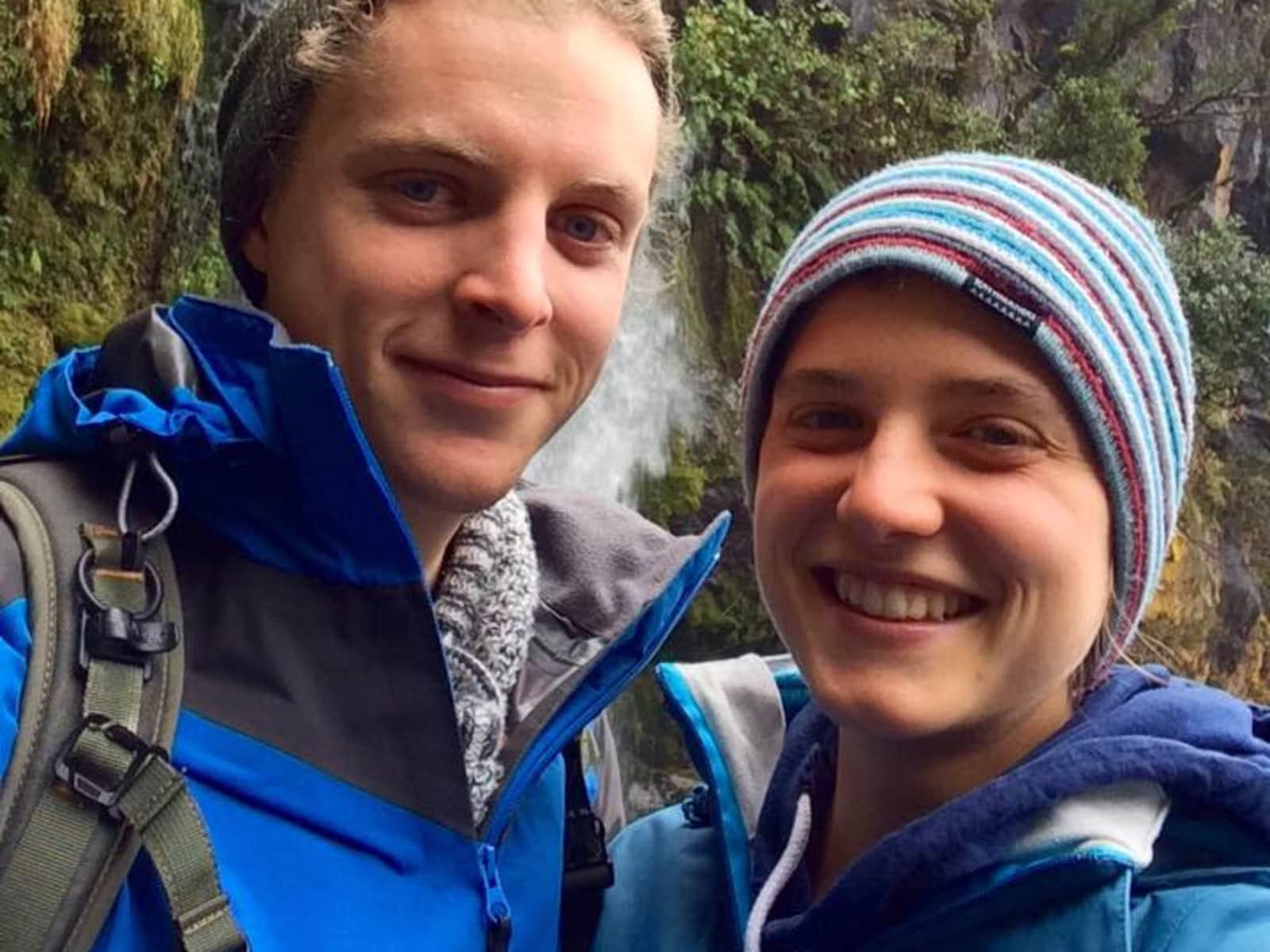 Anja & Jonathan from Waikanae, New Zealand