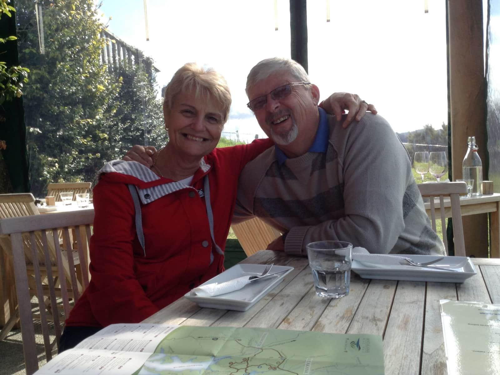 Mary & Michael from Newlands, New Zealand