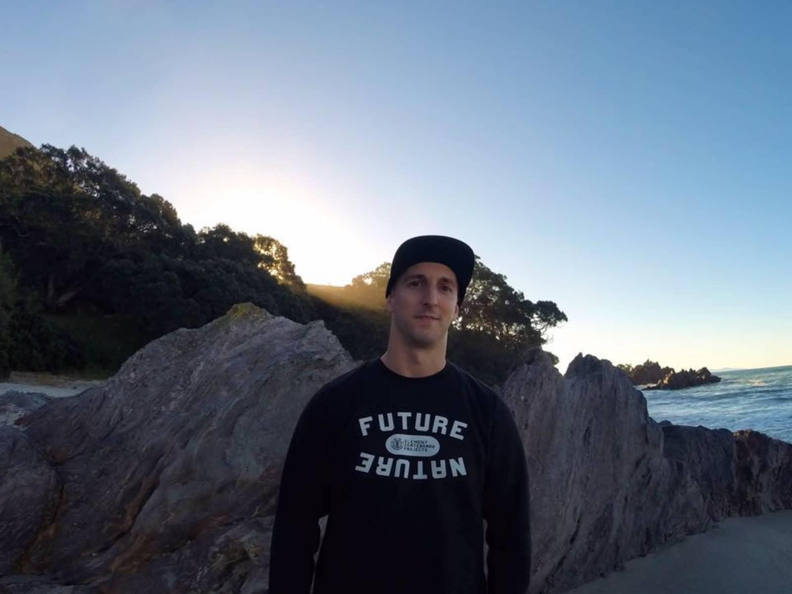 Dan from Auckland, New Zealand