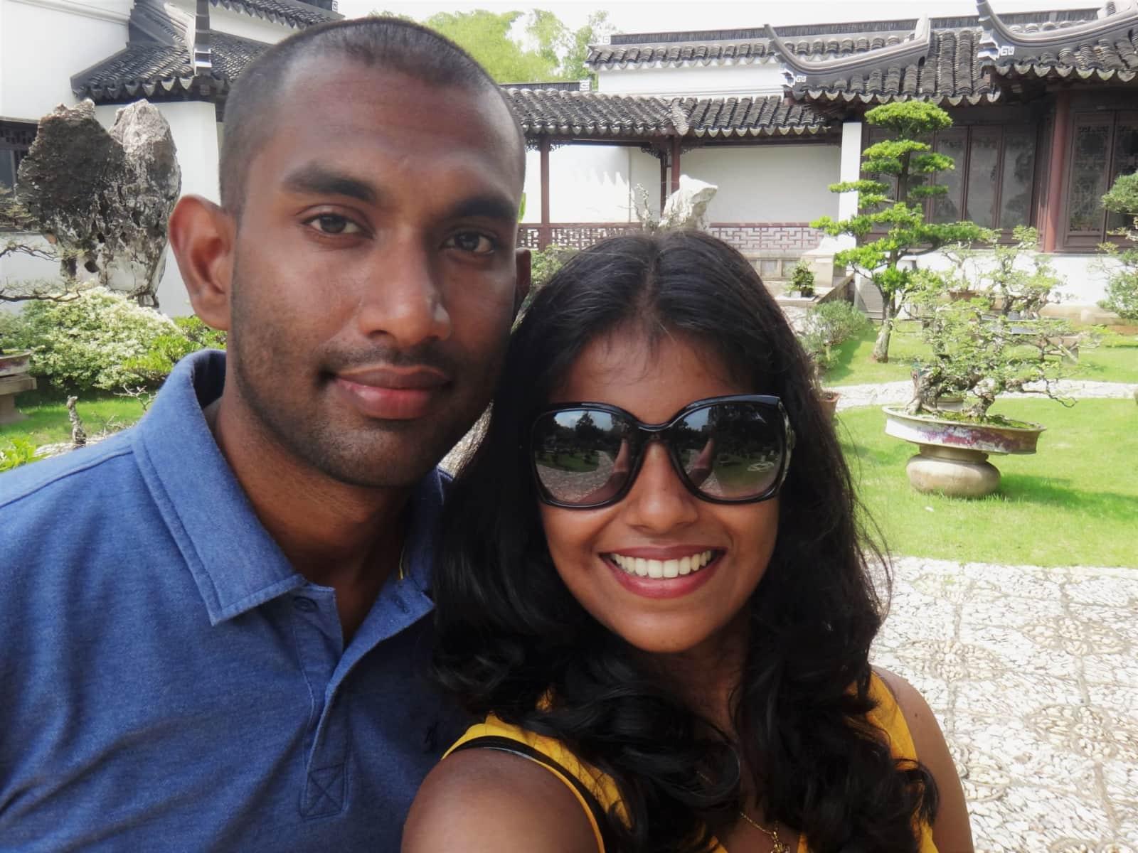 Hiran& & Yureshini from Colombo, Sri Lanka