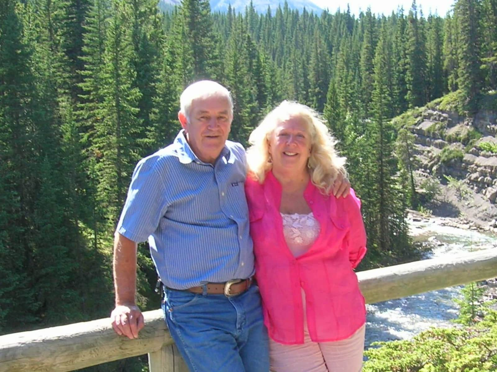 Beverly & Peter from Black Diamond, Alberta, Canada