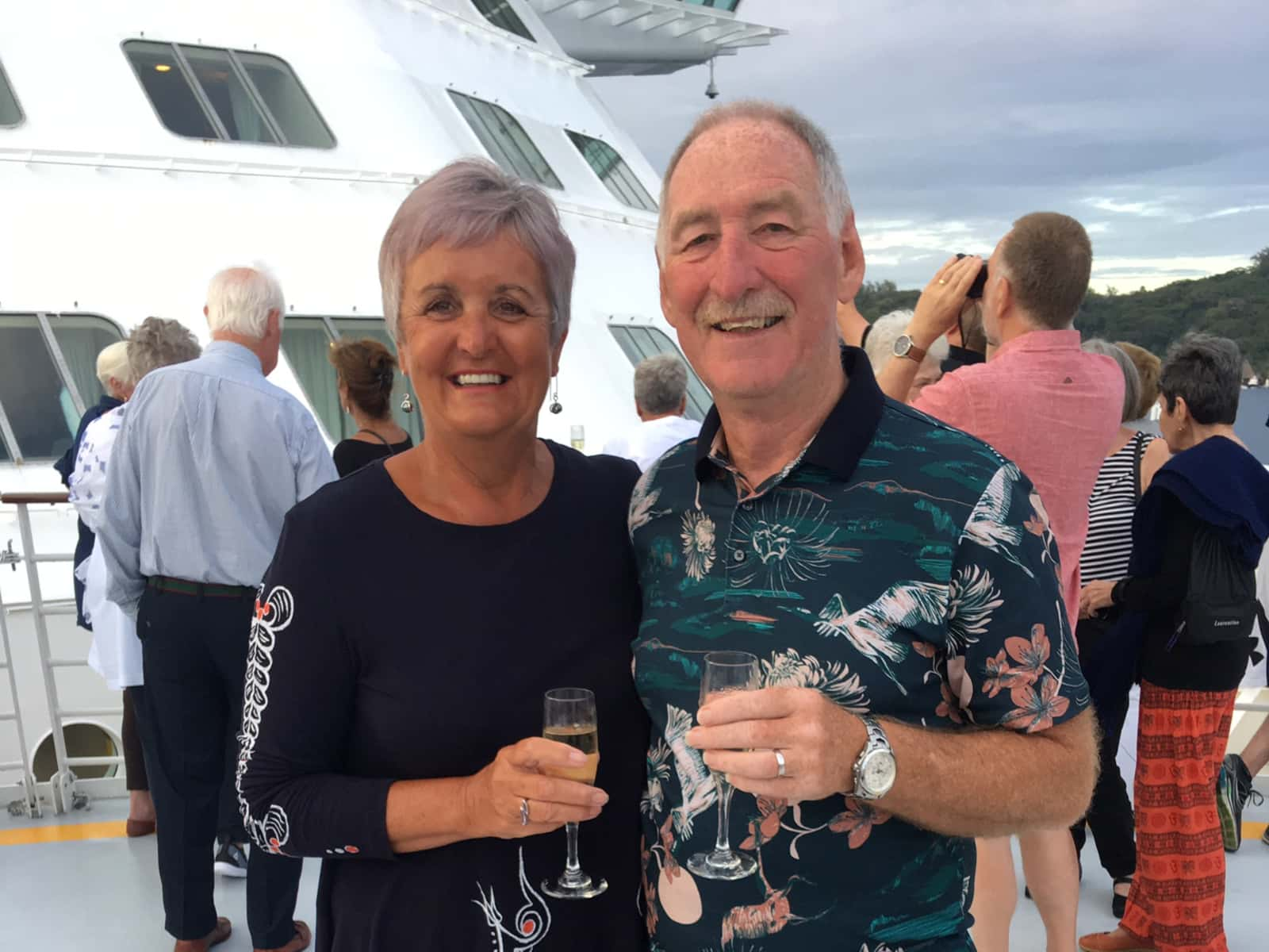 Heather & Rod from Glen Forrest, Western Australia, Australia