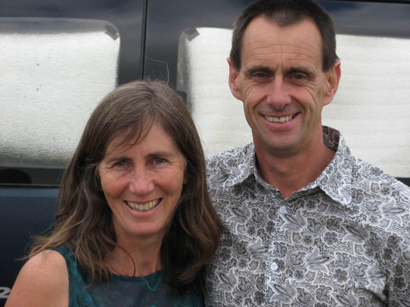 Jo-anne & Allan from New Plymouth, New Zealand