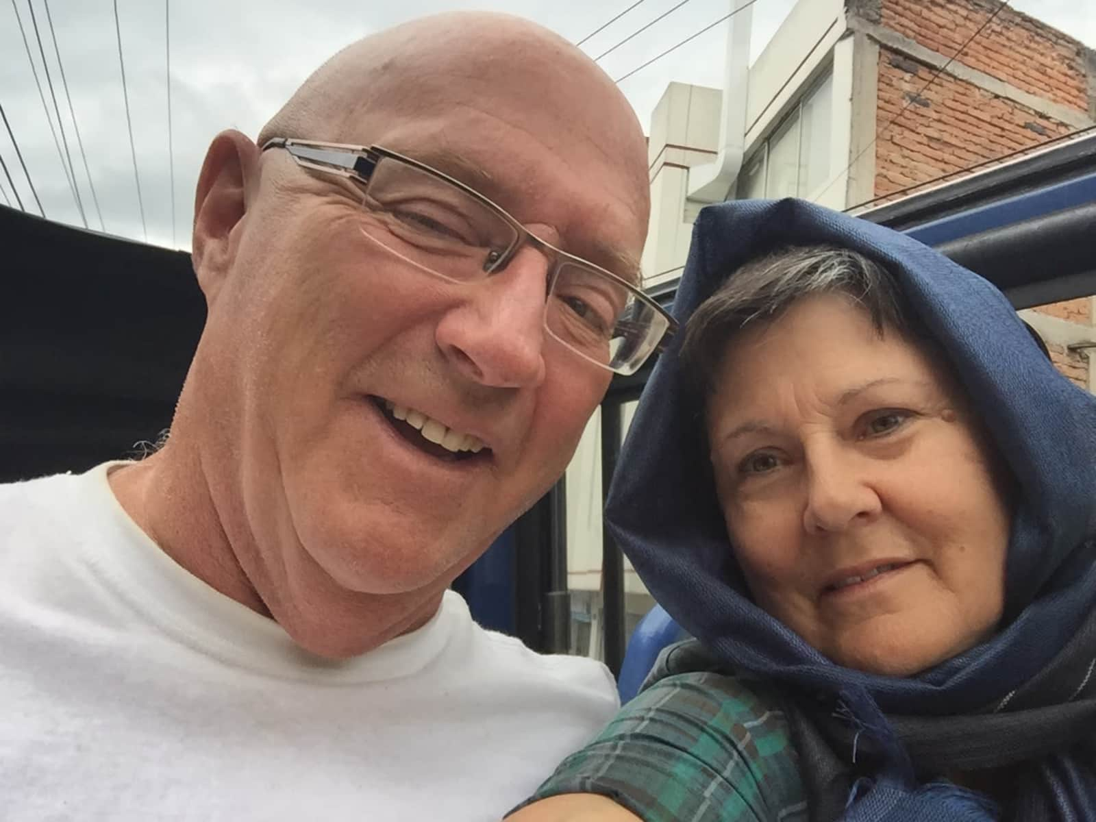 Nancy & Lorne from Beausejour, Manitoba, Canada