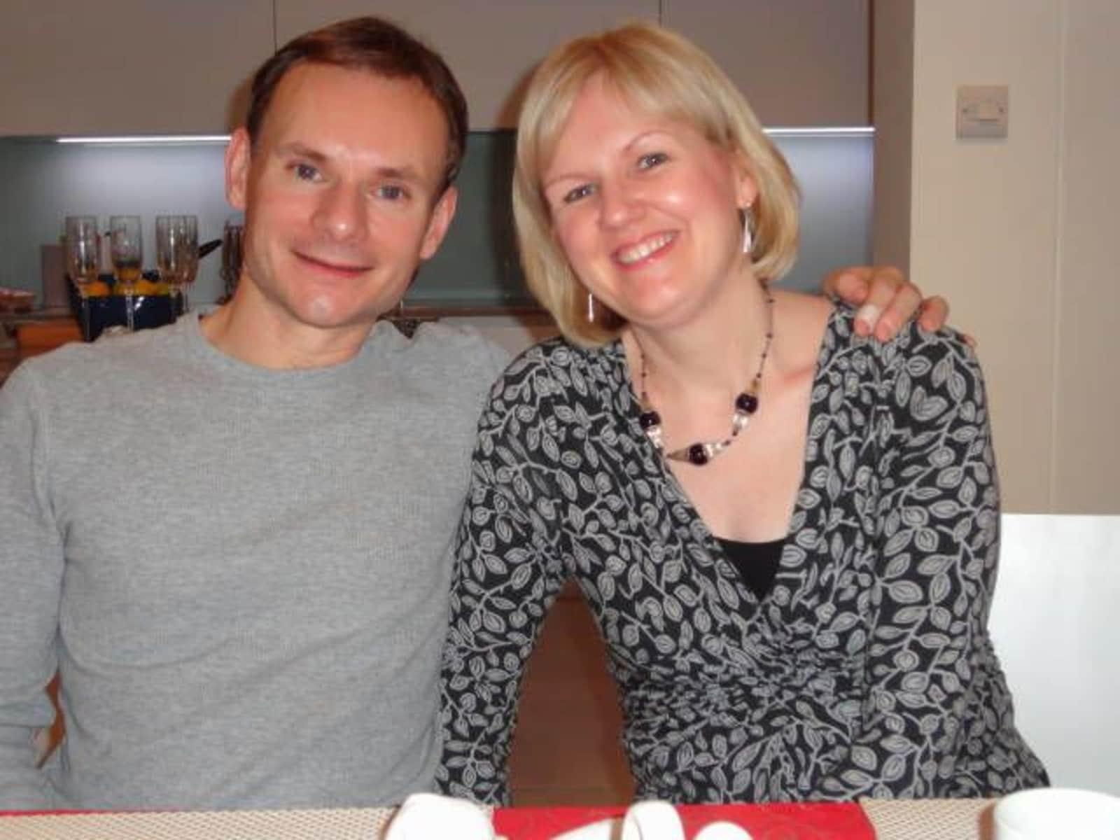 Majella & John from London, United Kingdom